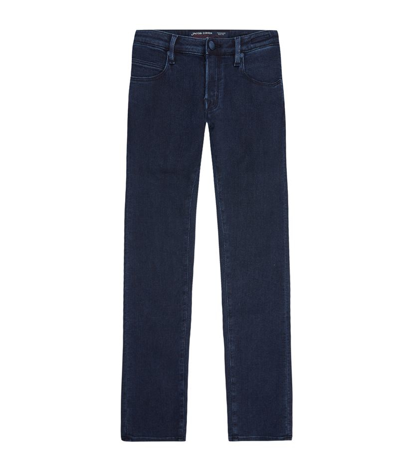 Lyst jacob cohen stretch denim jeans in blue for men - Jacob cohen denim ...
