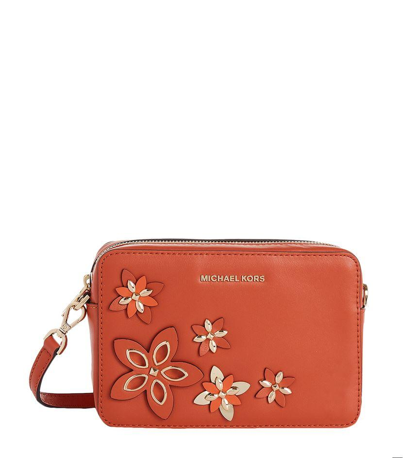Michael Michael Kors Embellished Cross Body Camera Bag | Lyst