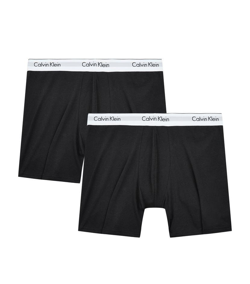 calvin klein modern long boxer briefs set of 2 for men. Black Bedroom Furniture Sets. Home Design Ideas