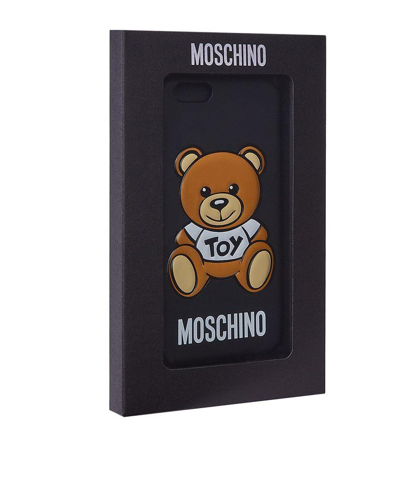 moschino toy bear iphone 6 6s case lyst. Black Bedroom Furniture Sets. Home Design Ideas