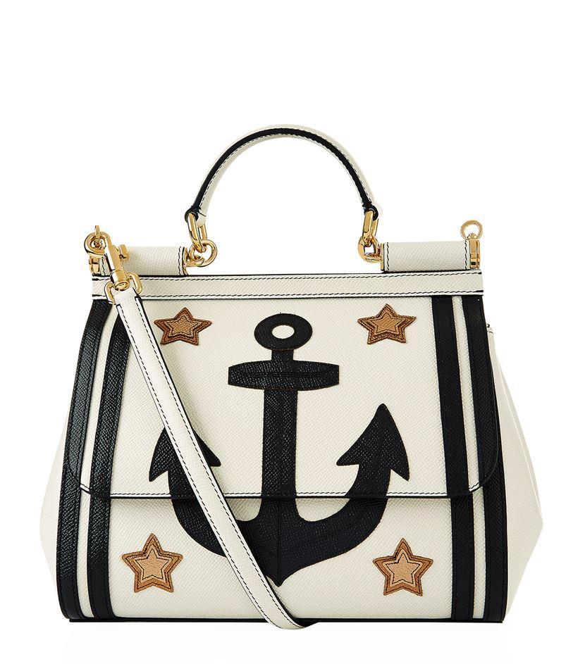 2d8a83d717 Dolce   Gabbana - Multicolor Medium Sicily Anchor Bag - Lyst