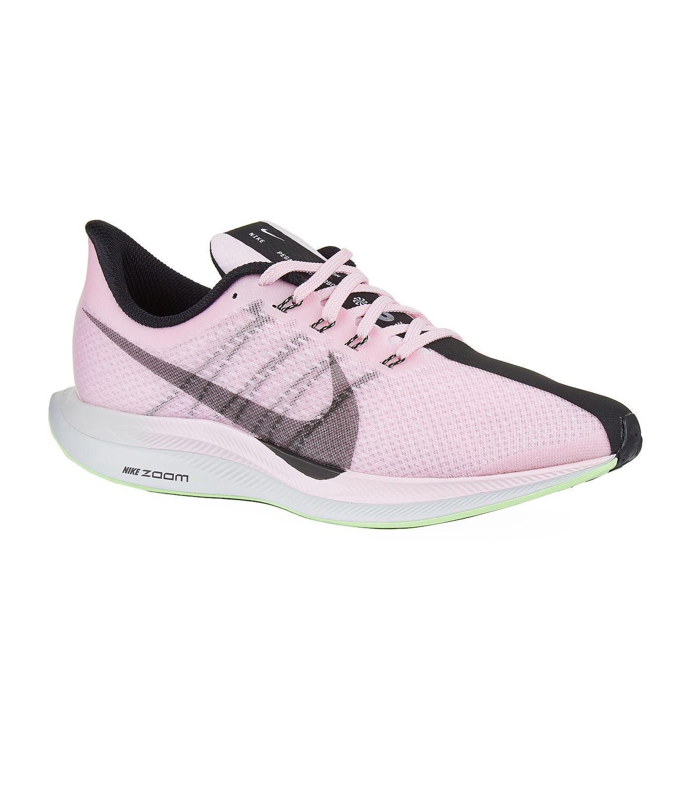 98fd8b1ccfacf Nike - Pink Air Zoom Pegasus 35 Turbo Trainers - Lyst. View fullscreen