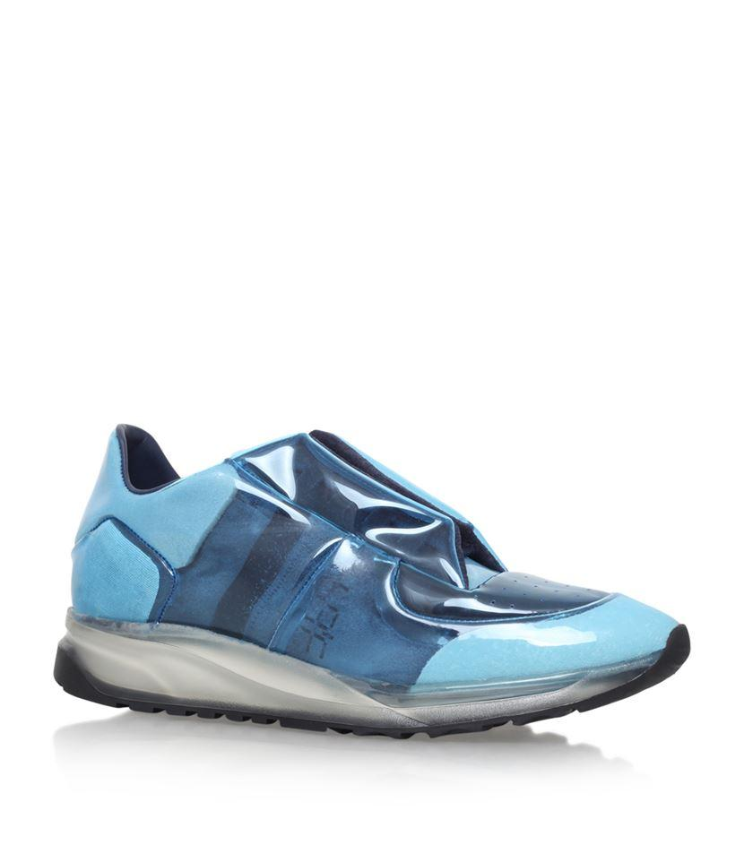 maison margiela future running sneakers in blue lyst. Black Bedroom Furniture Sets. Home Design Ideas