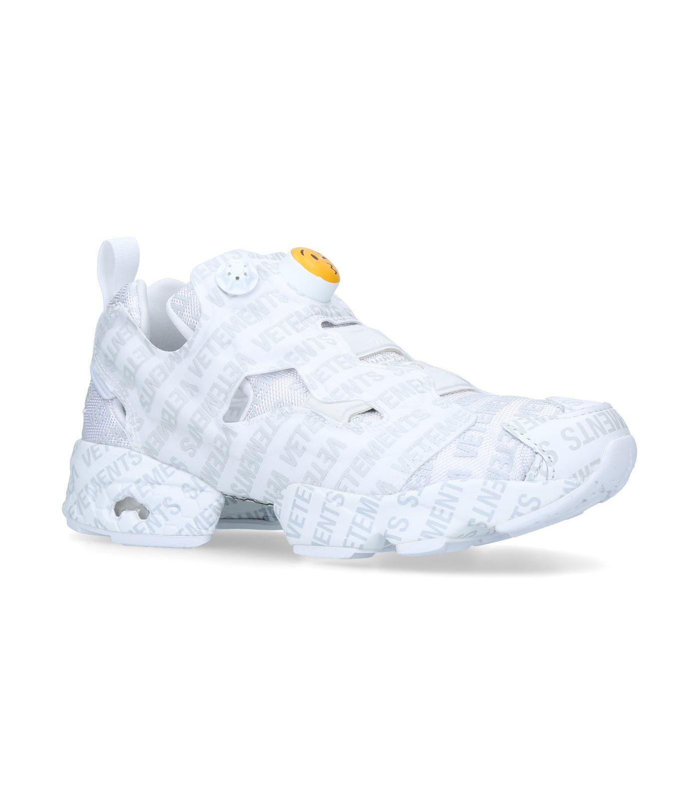 b813b3540d6f17 Lyst - Vetements Logo Instapump Fury Emoji Sneakers in Gray for Men