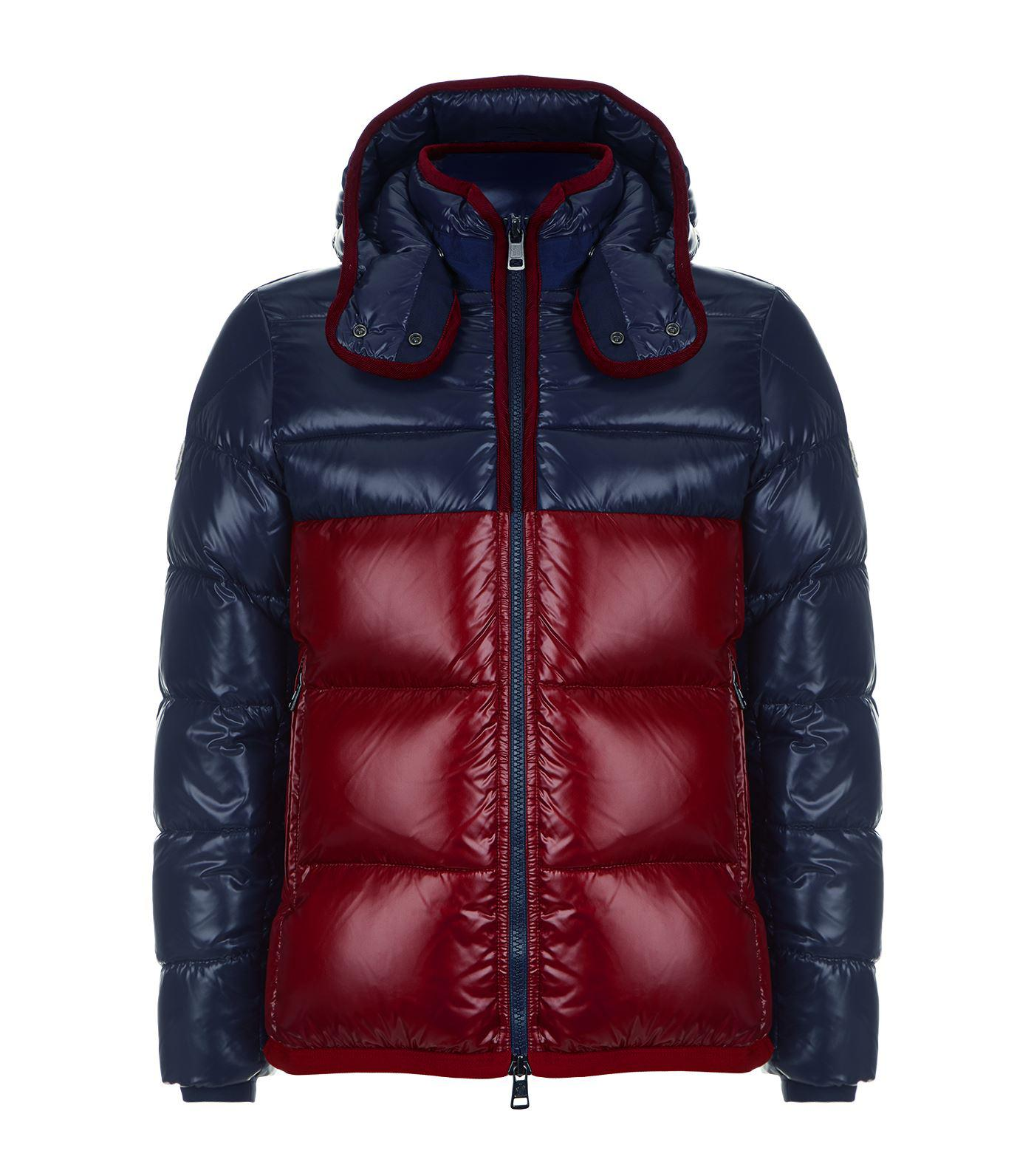 4ceedc3ac4b9 Lyst - Moncler Harry Hooded Puffer Jacket in Blue for Men