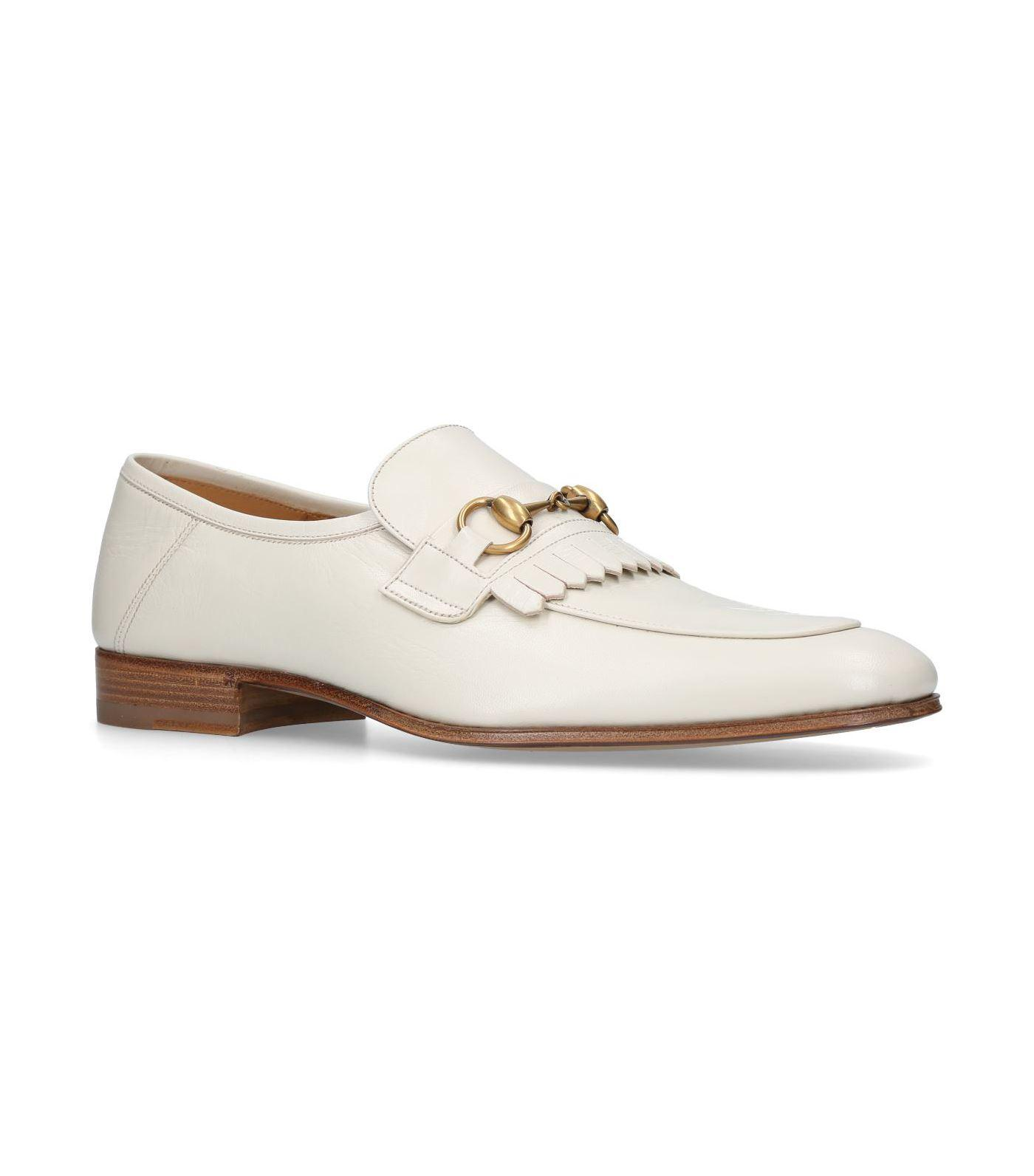 Harbor leather loafers Gucci Um7RQ7