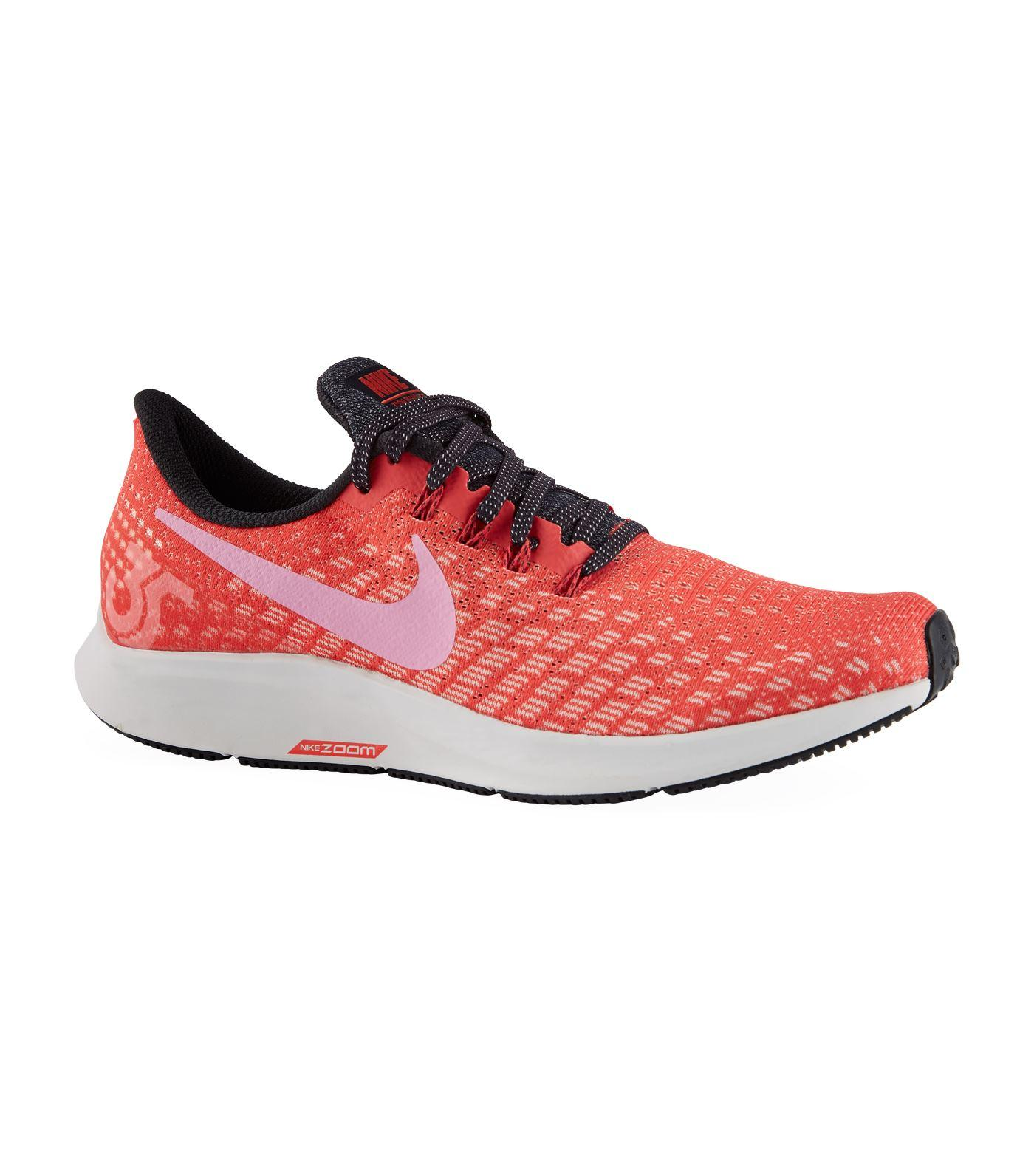 f0420651ab44 Nike Air Zoom Pegasus 35 Trainers in Red - Lyst