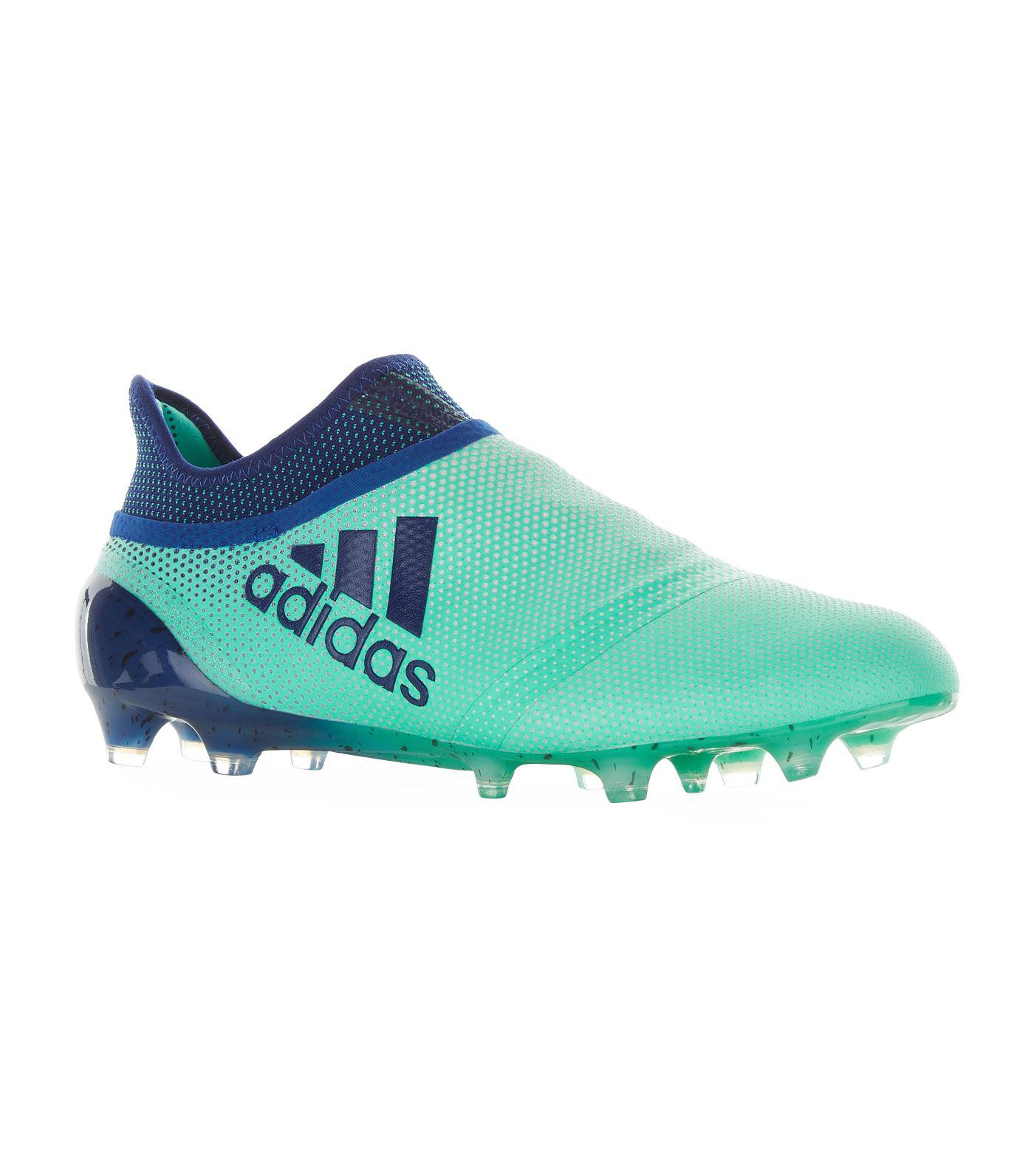 wholesale dealer 56380 89e9d Adidas X 17+ Purespeed Firm Ground Football Boots in Green f