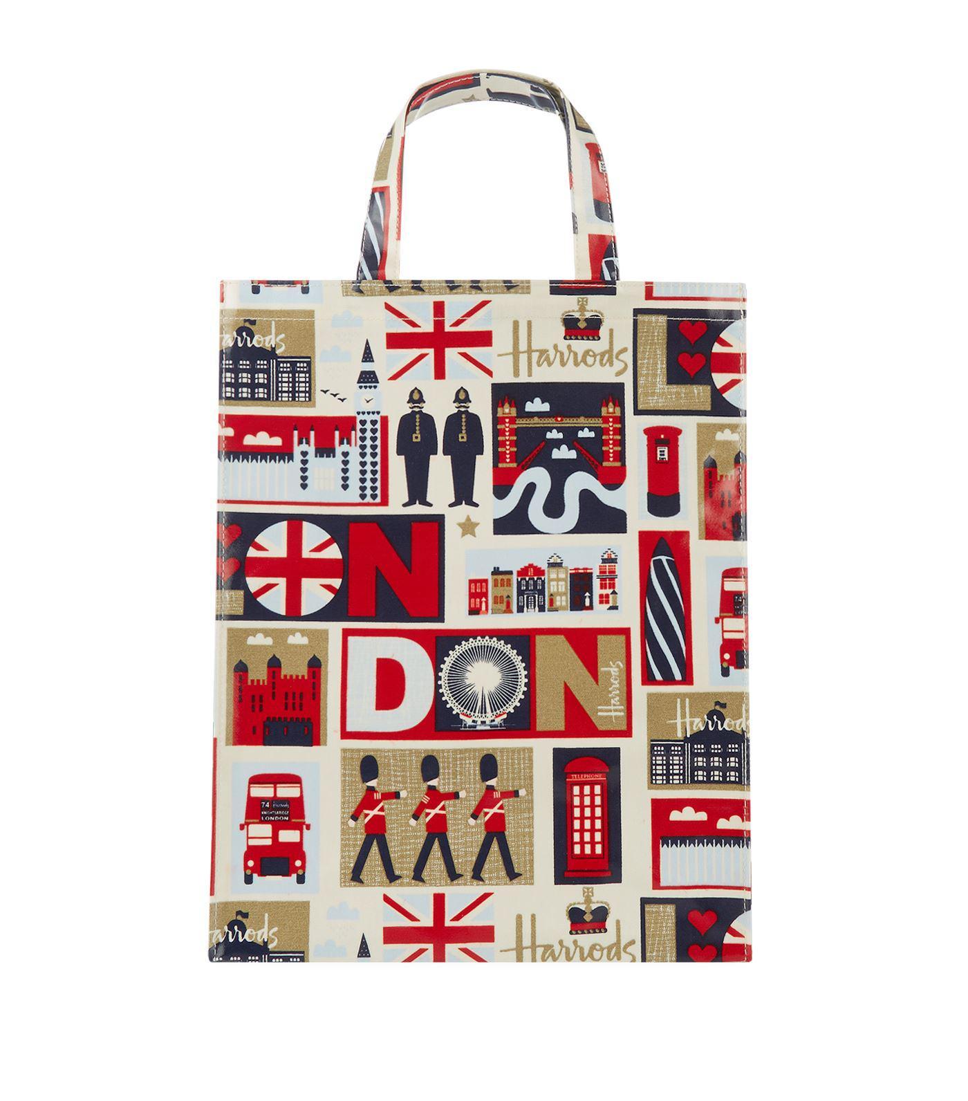 16dc890c9c827a Harrods Medium Iconic London Shopper Bag in Red - Lyst