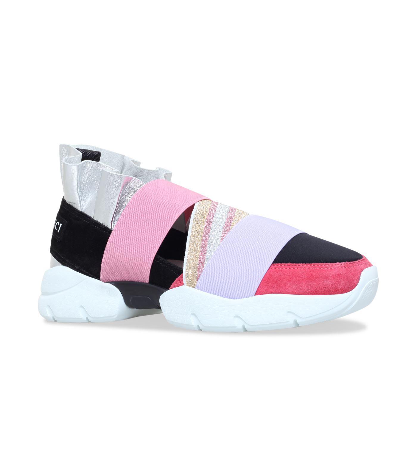 Emilio Pucci City hi-top sneakers - Pink & Purple farfetch neri Estate Comprar Barato 2018 Nueva 2018 El Nuevo Precio Barato wup5AT7hTz