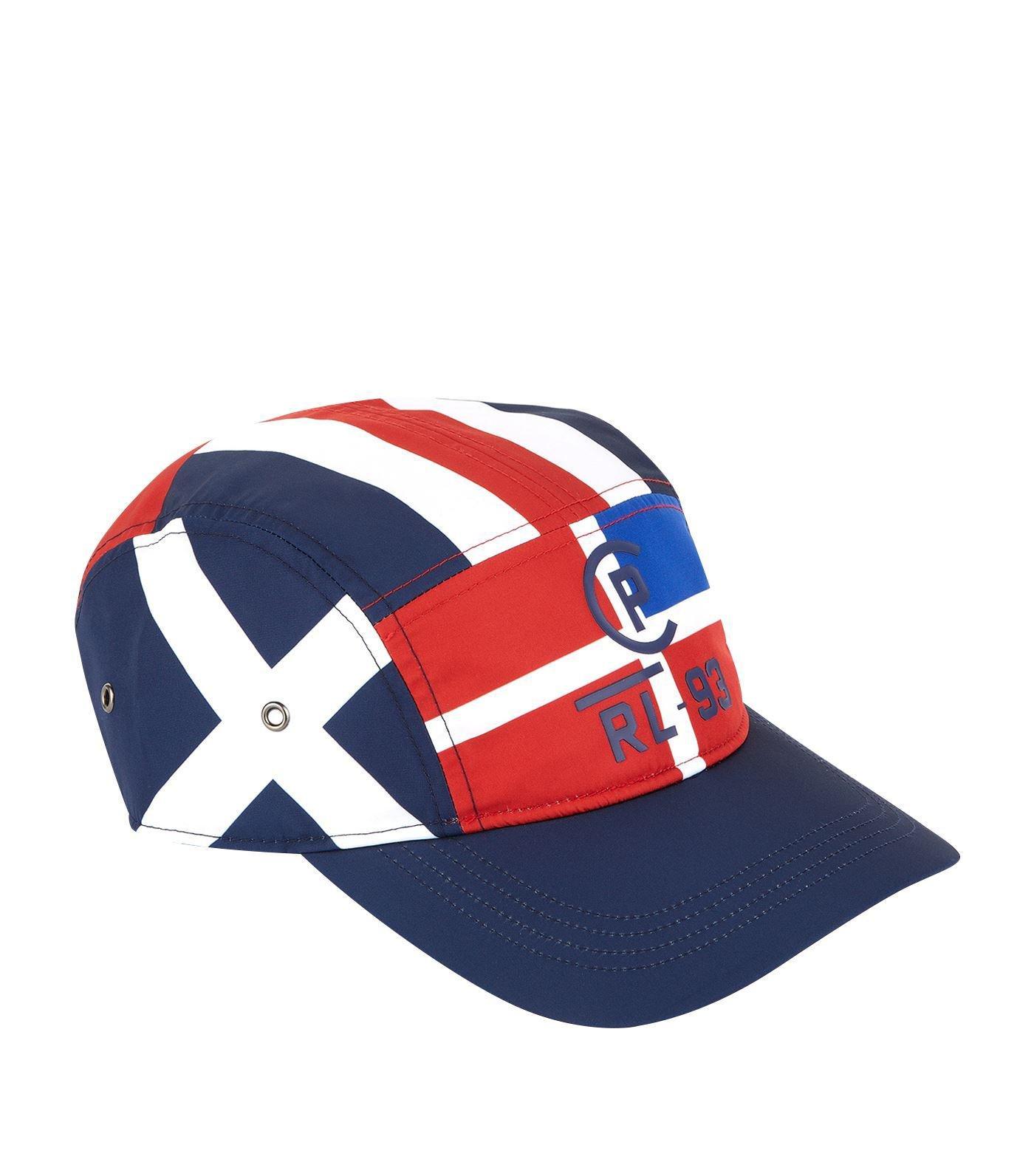 473453e4f4142 Polo Ralph Lauren Sailing Flag Print Cap in Blue for Men - Lyst