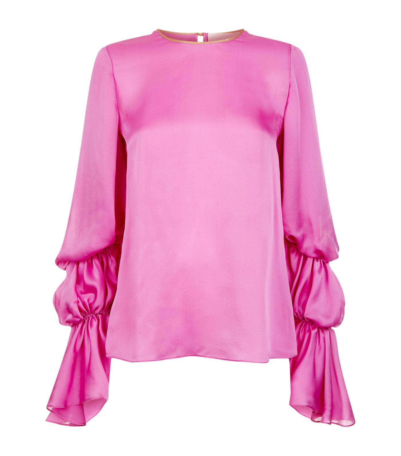 rosa Roksanda Blouse Silk Nezu Stylebop El erdCBoWQxE