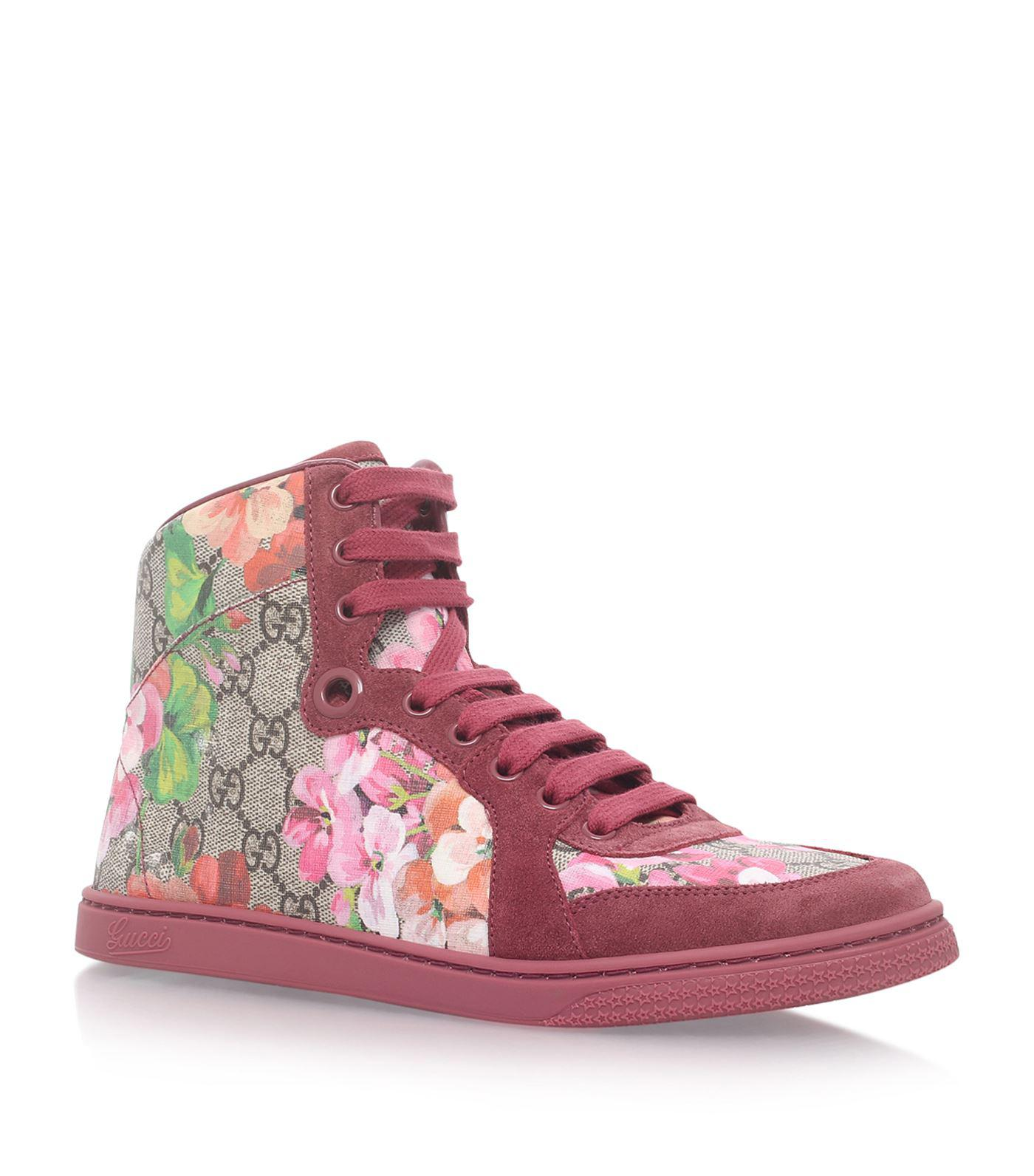 310bf752a09 Gucci Coda High Top Sneakers in Natural - Lyst