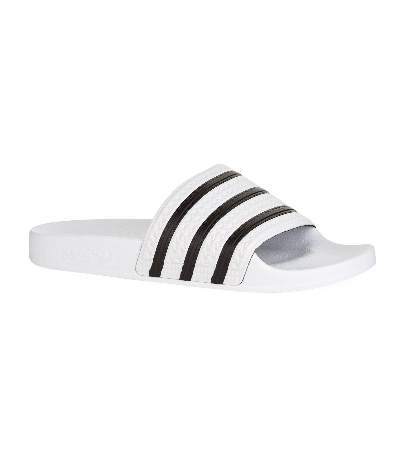 43725d610b4e6f Adidas Originals - White Sandals for Men - Lyst. View fullscreen