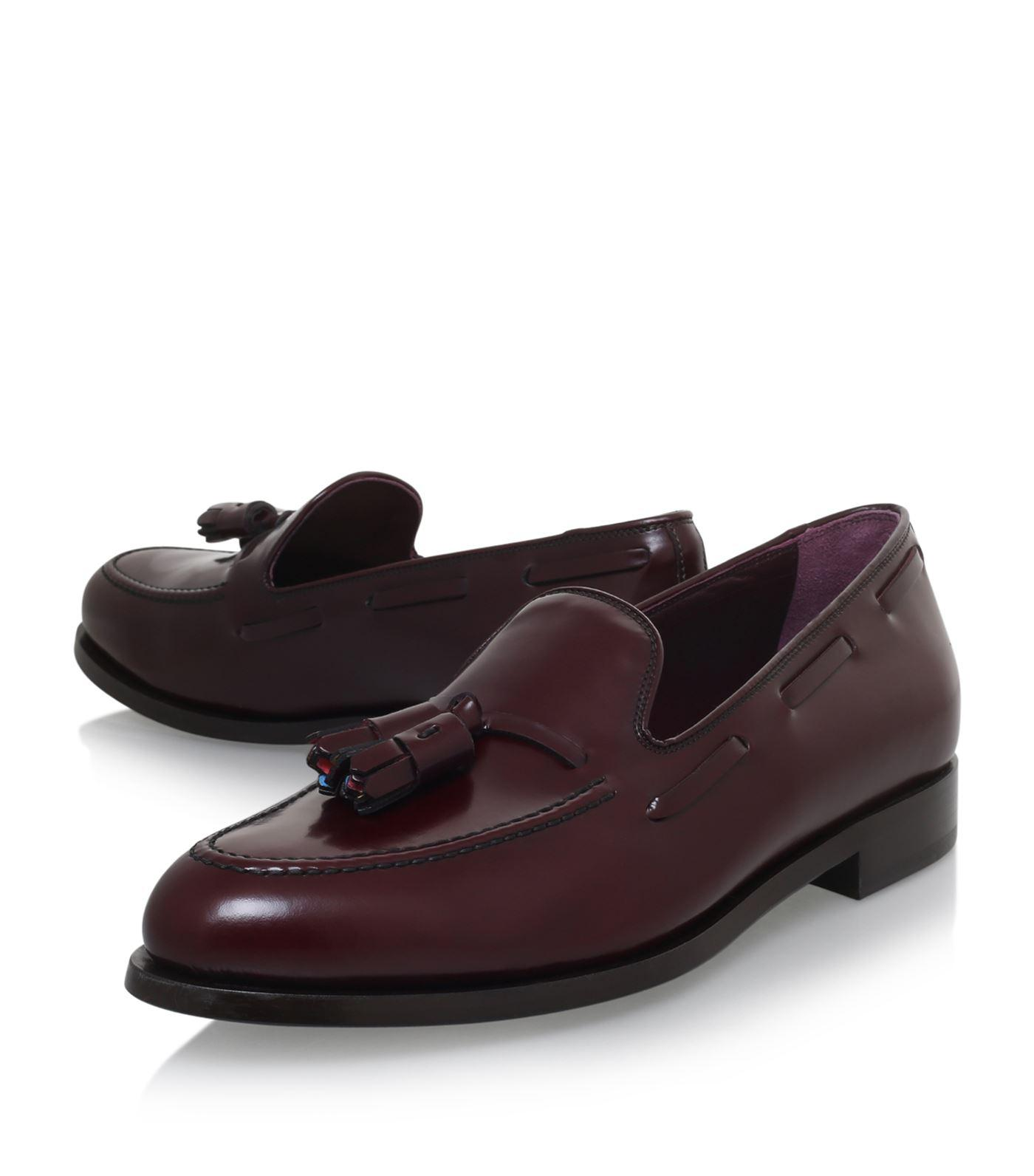 Lyst Paul Smith Simmons Tassel Loafers In Red For Men