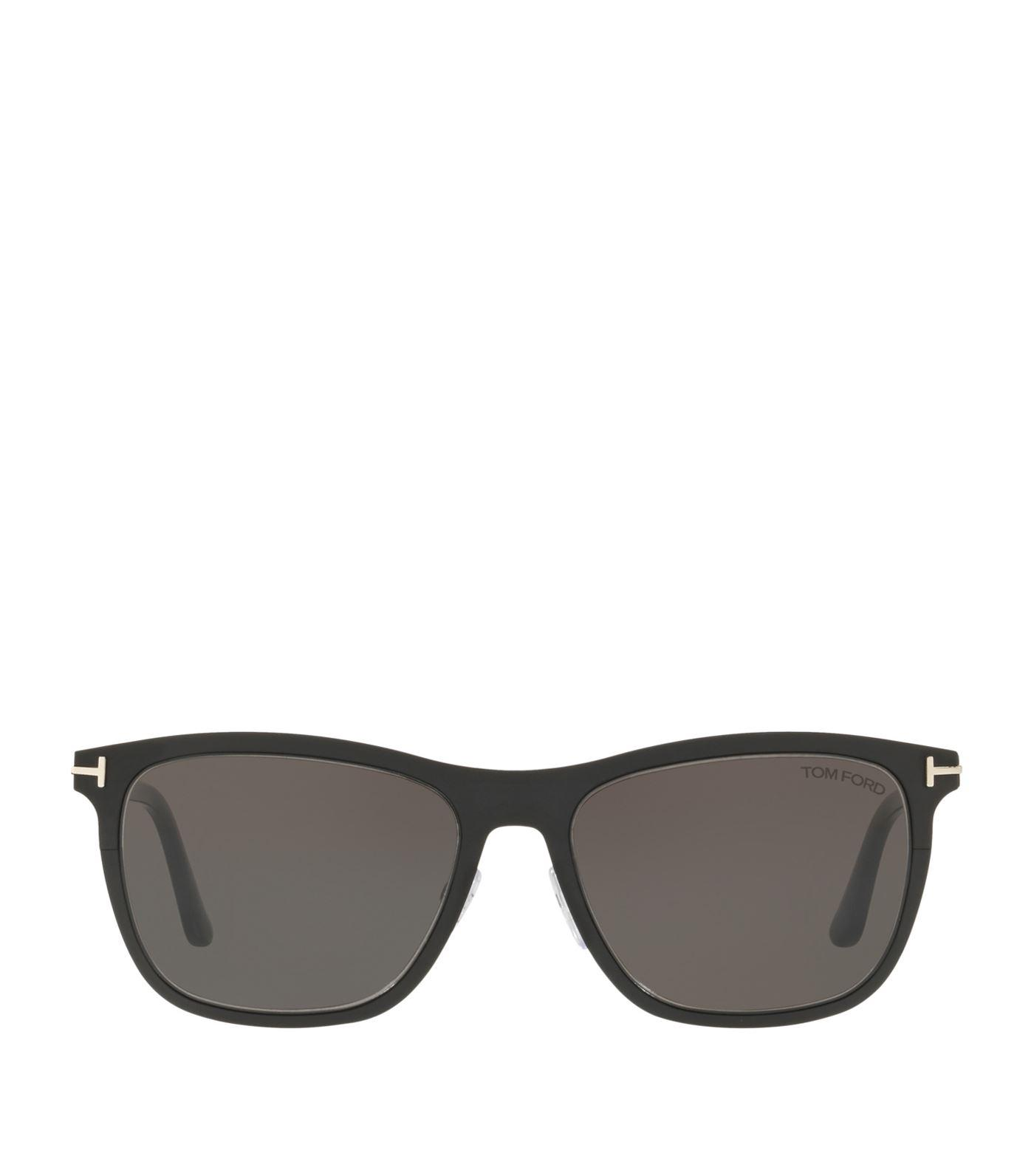 c99183cdfc0 Lyst - Tom Ford Alasdhair Sunglasses in Black - Save 54.54545454545455%