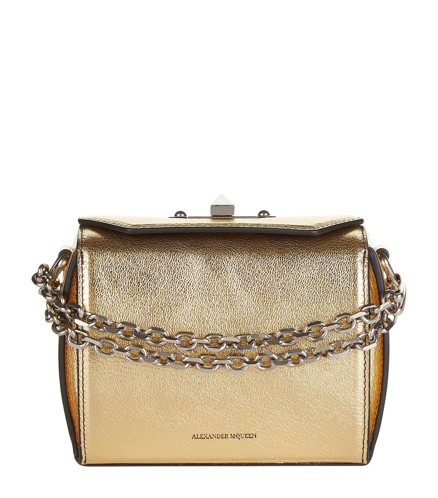 Box Chain Bag - Only One Size / Pink Alexander McQueen Low Shipping Sale Shop QhGkVY9i1