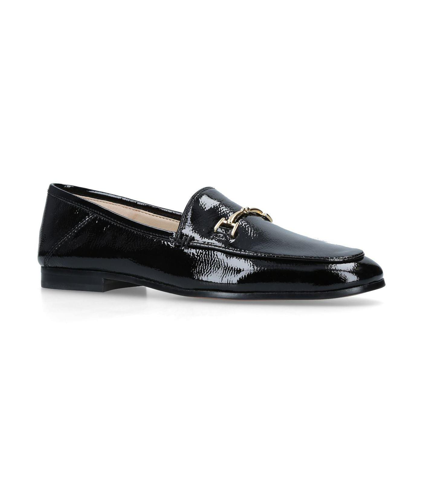 5c131833ccde6 Lyst - Sam Edelman Patent Leather Loraine Loafers in Black