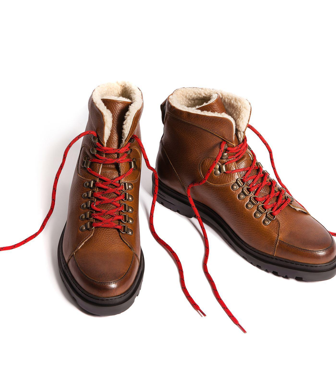 3537d962b14 Kurt Geiger Amber Hiking Boots in Natural for Men - Lyst