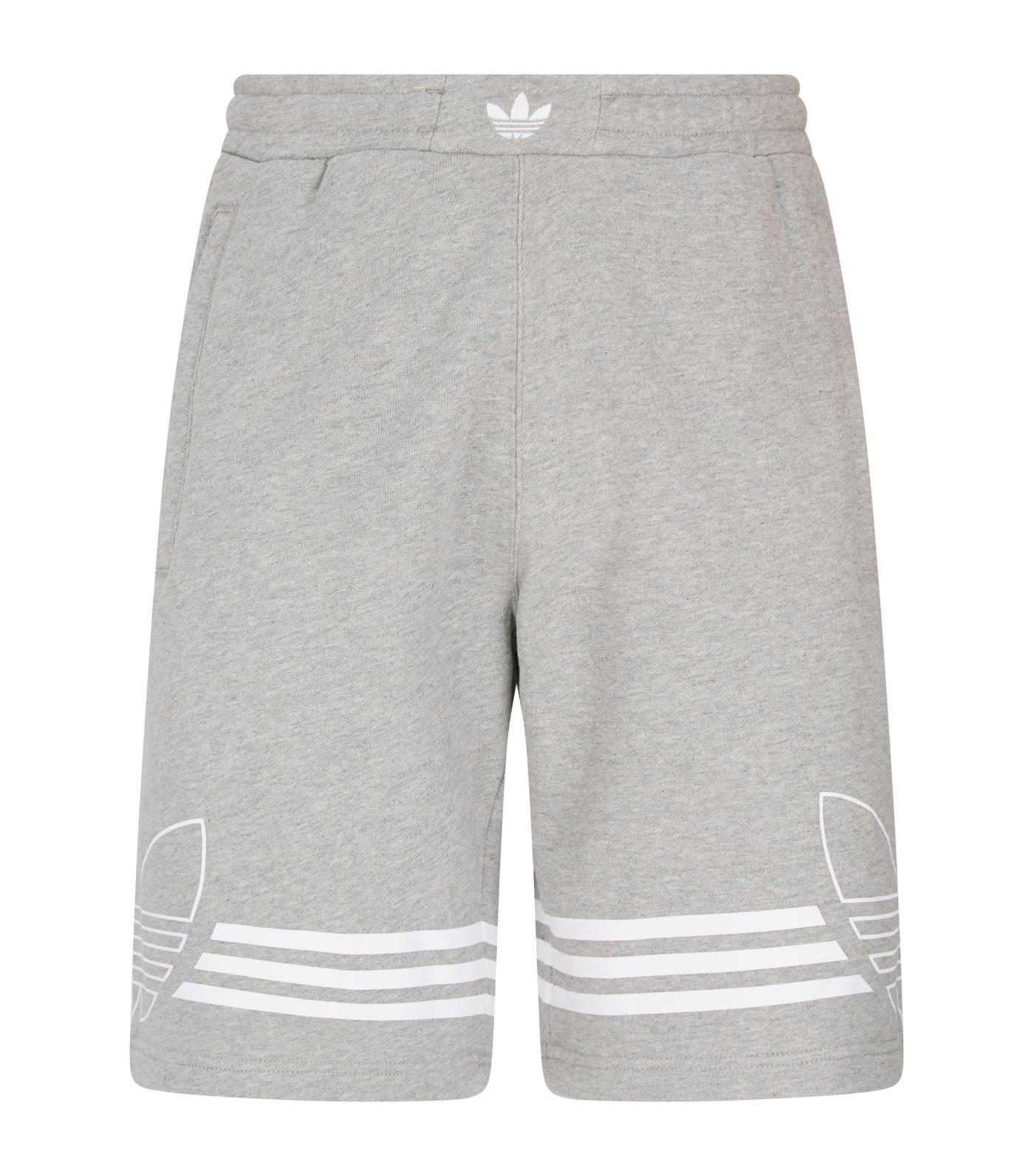 54474b2c8829 Lyst - adidas Originals Outline Sweat Shorts in Gray for Men