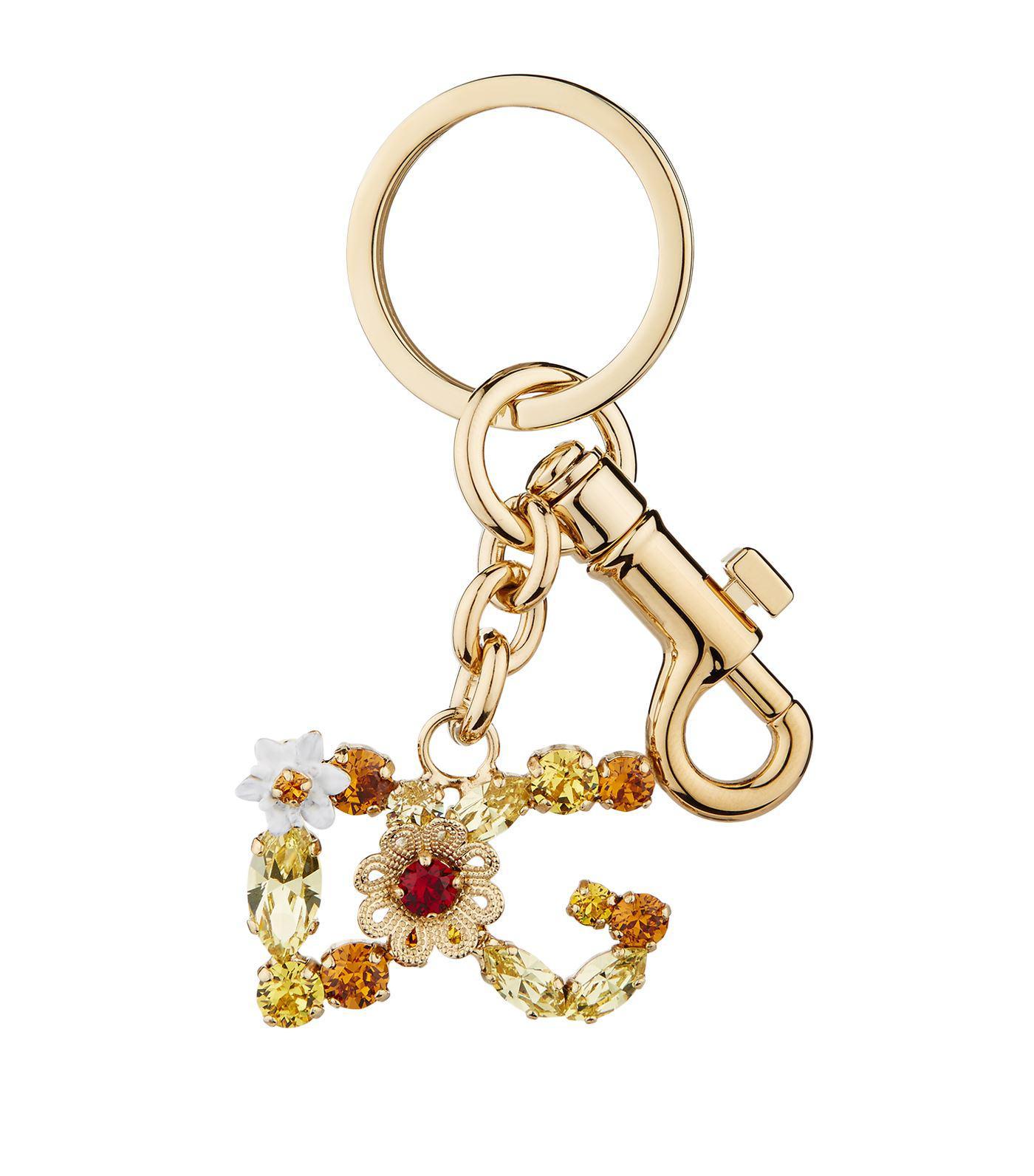 Dolce & Gabbana star keyring - Metallic 5ESmg8N