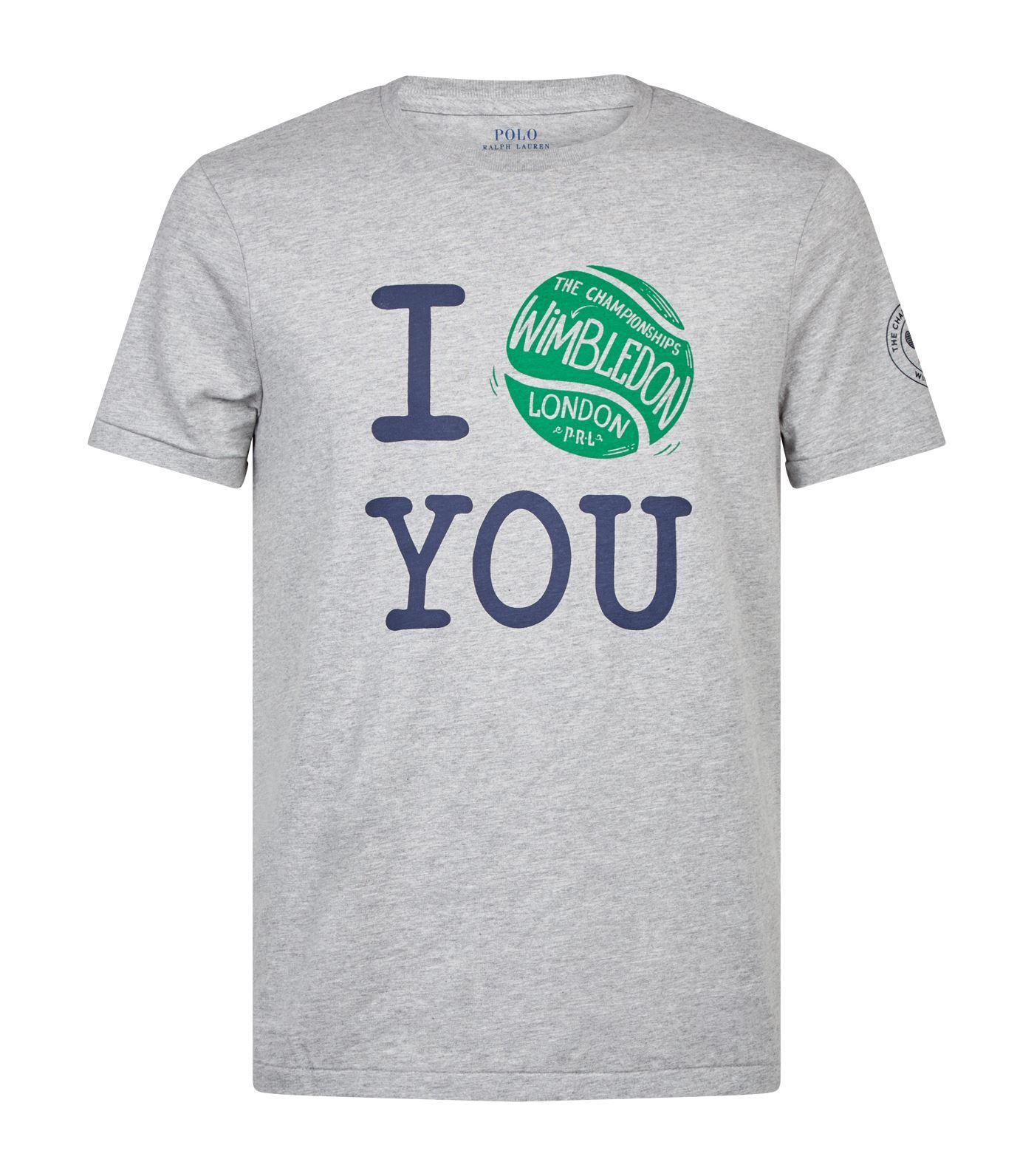 a0928062 Lyst - Polo Ralph Lauren Wimbledon Championships Tennis T-shirt in ...