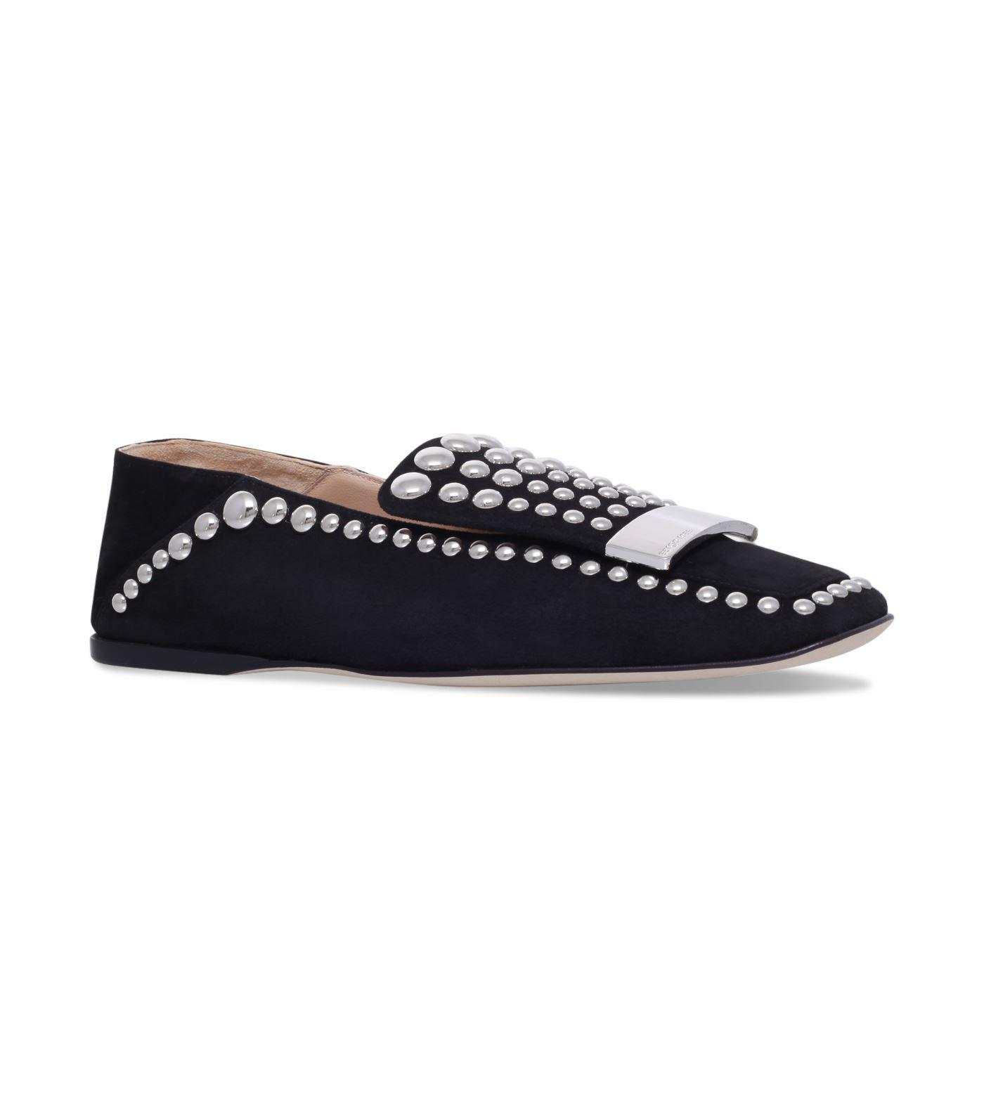 Pay With Visa For Sale Buy Cheap Cheap brooch embellished slip-on loafers - Black Sergio Rossi Sale Footlocker Pictures Sale Footlocker Finishline 2018 New For Sale IRNidThW