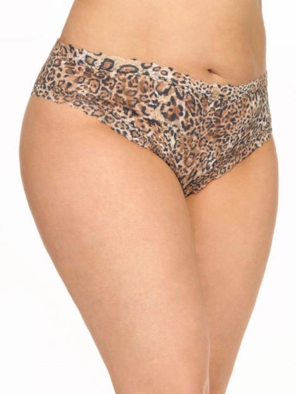 99eaa0f0a Lyst - Hanky Panky Crotchless Plus Size Cheeky Hipster in Brown
