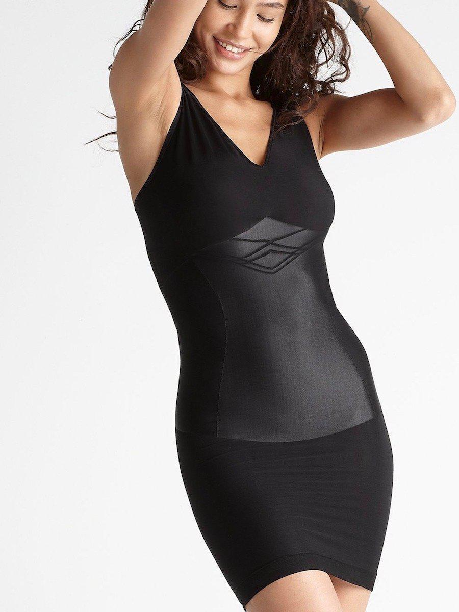 7dd179863 Lyst - Yummie Seamless Firm Control Shapewear Slip in Black