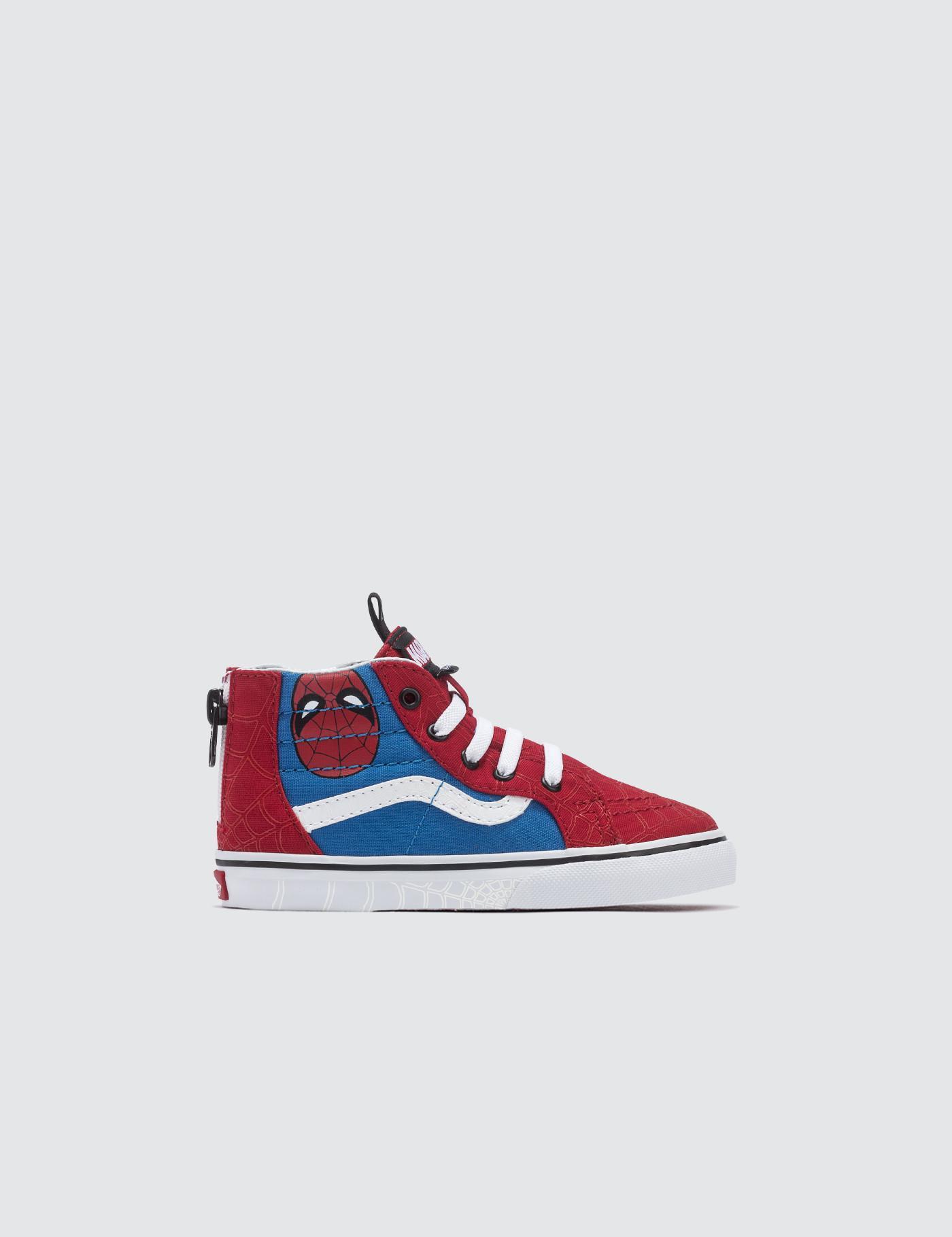 Lyst - Vans Marvel Sk8-hi Zip in Red for Men 40f51c022