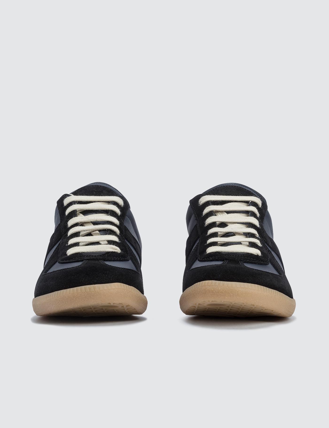 c89b13e21260 Maison Margiela Replica Low Top Sneaker in Blue for Men - Lyst