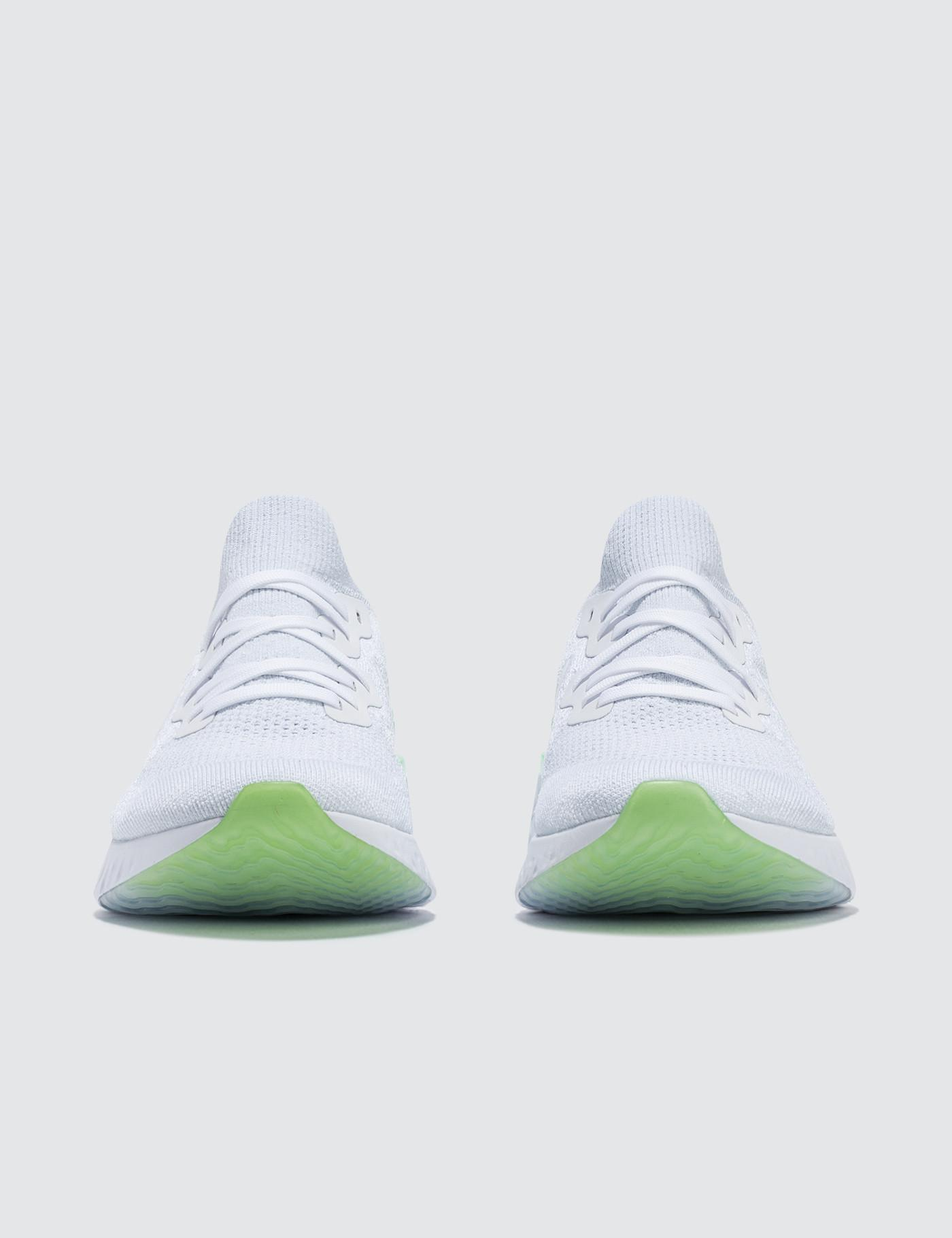 05ae06332232 Nike Epic React Flyknit 2 in White for Men - Lyst