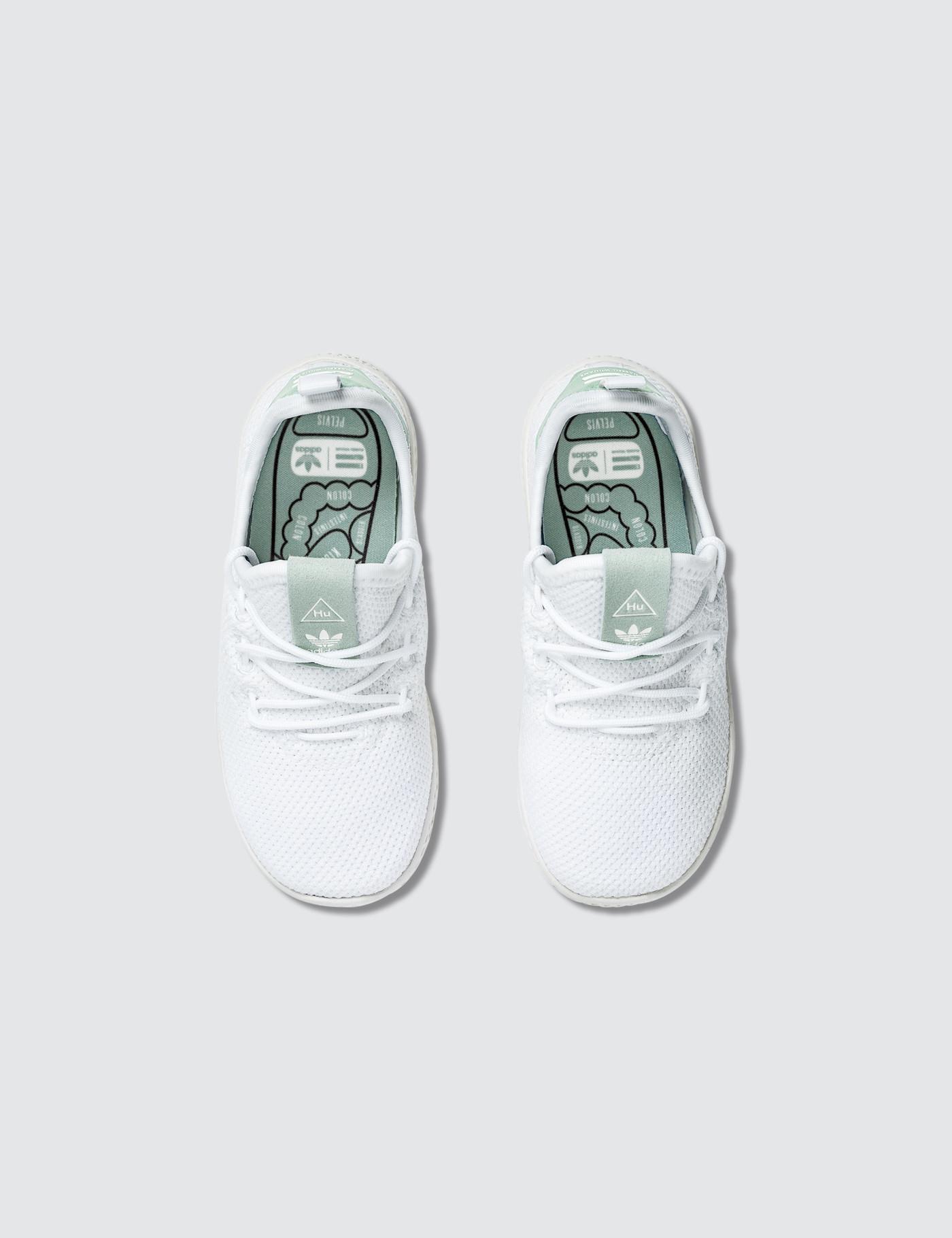 258c7b56056e2 Lyst - adidas Originals Pharrell Williams X Adidas Pw Tennis Hu Infants in  White for Men