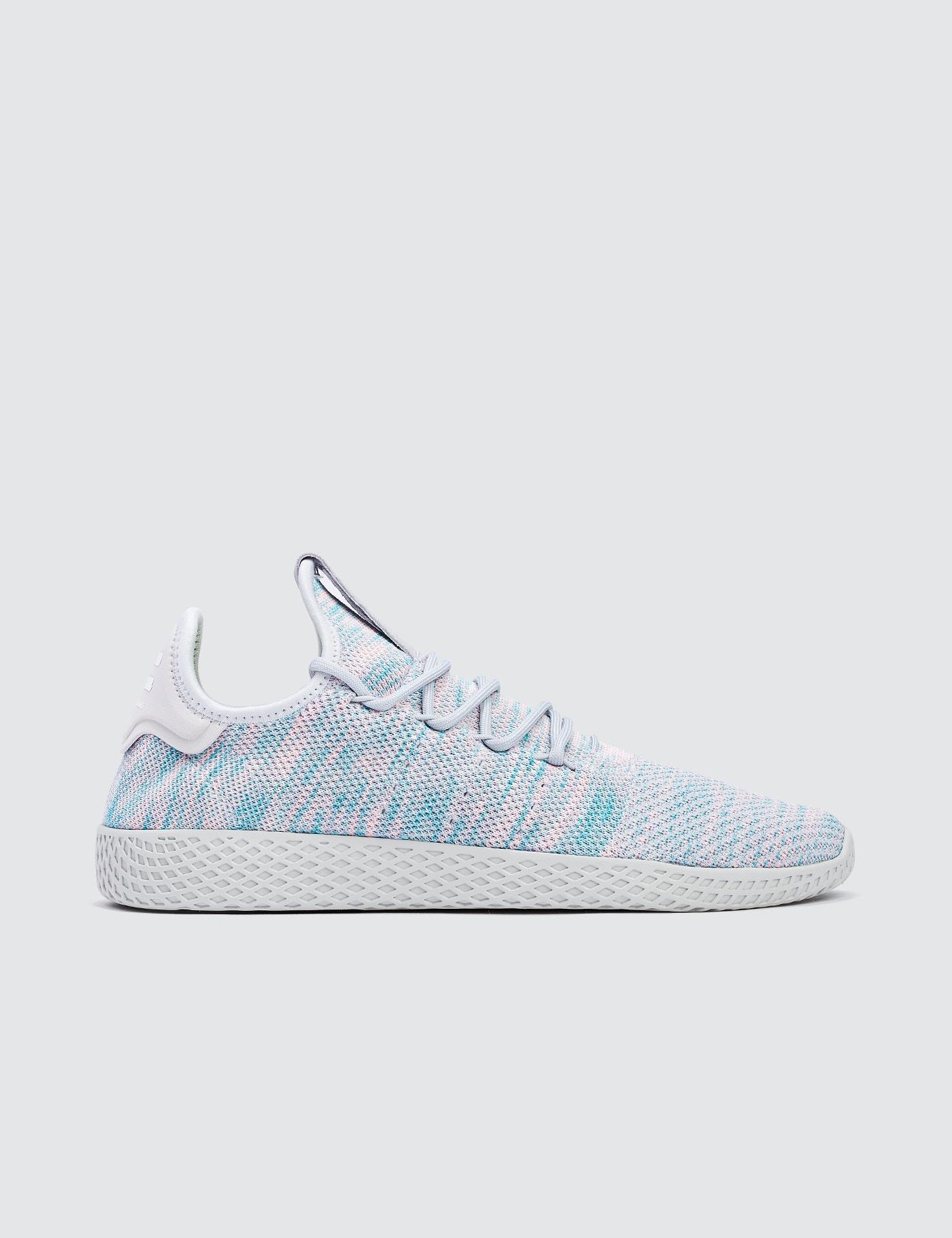 lyst adidas originali pharrell williams x pw tennis hu in blu per gli uomini.