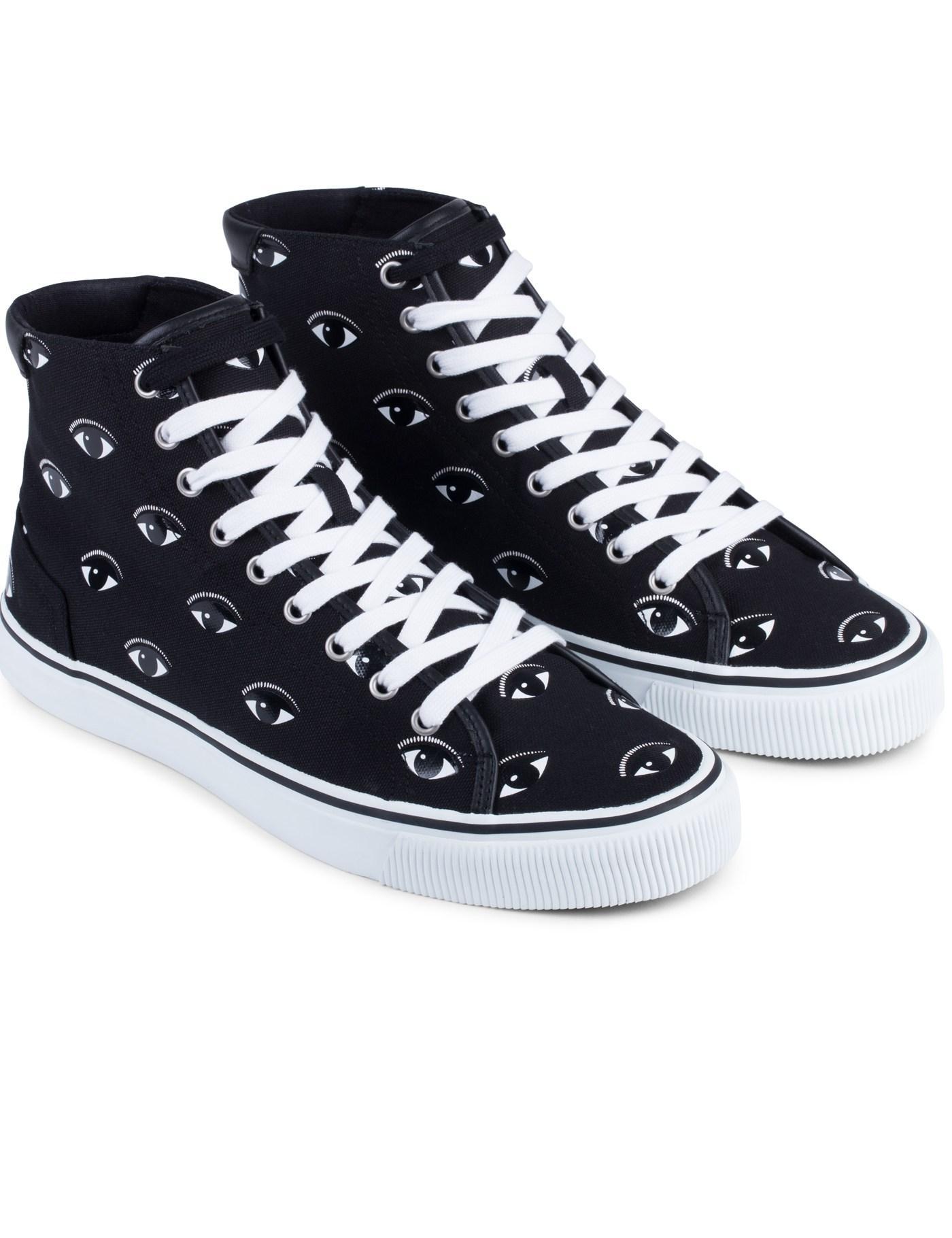 3e9bdd67 KENZO Vulcano Eyes Sneakers for Men - Lyst