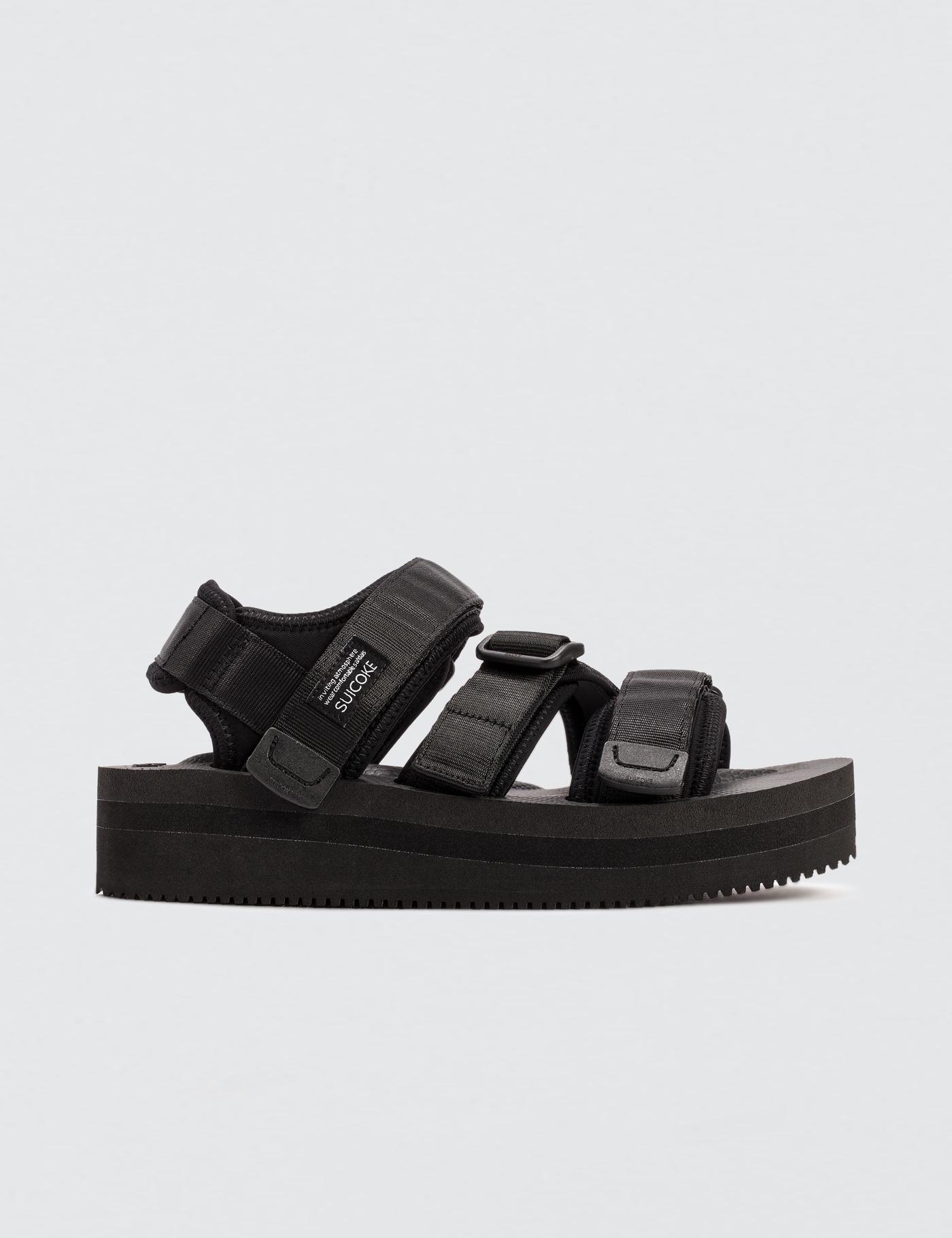 992dc04b062 Suicoke Black Kisee-vpo Platform Sandals in Black - Lyst
