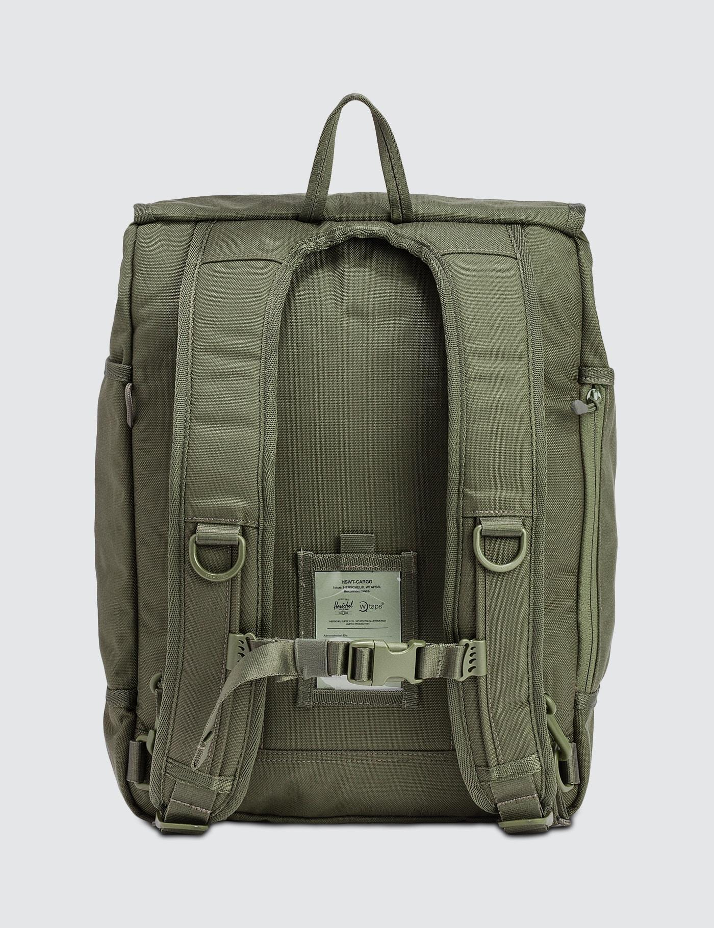 164d4251bee Herschel Supply Co. Wtaps X W-379 Backpack in Green for Men - Lyst