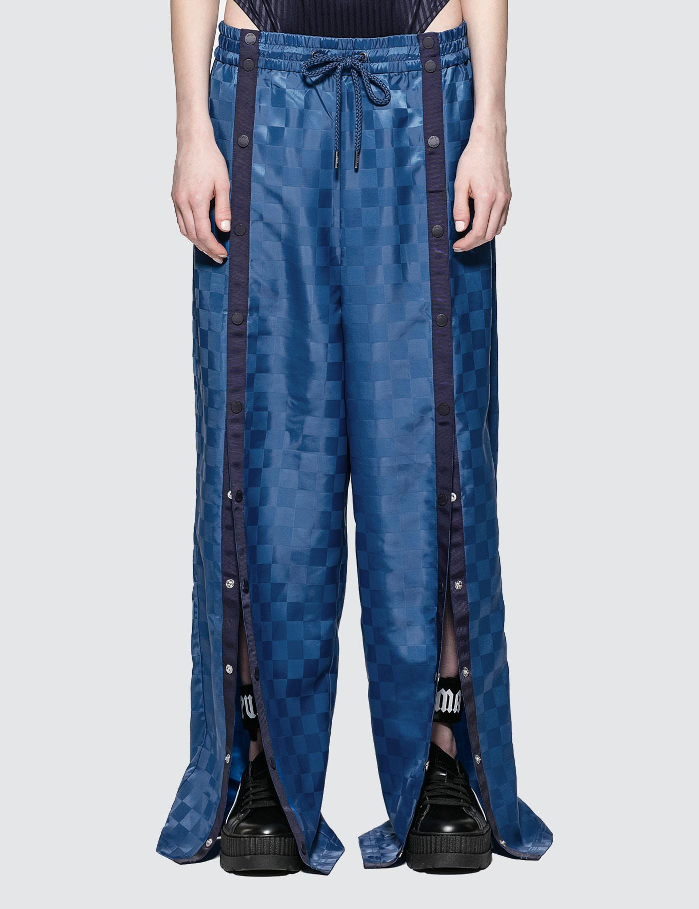 773b7e97287 PUMA Fenty By Rihanna Front Tearaway Track Pants in Blue - Lyst