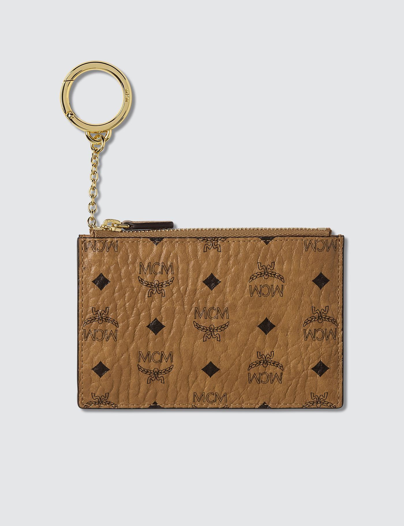 394abb1c714 MCM - Brown Mini Key Pouch for Men - Lyst. View fullscreen