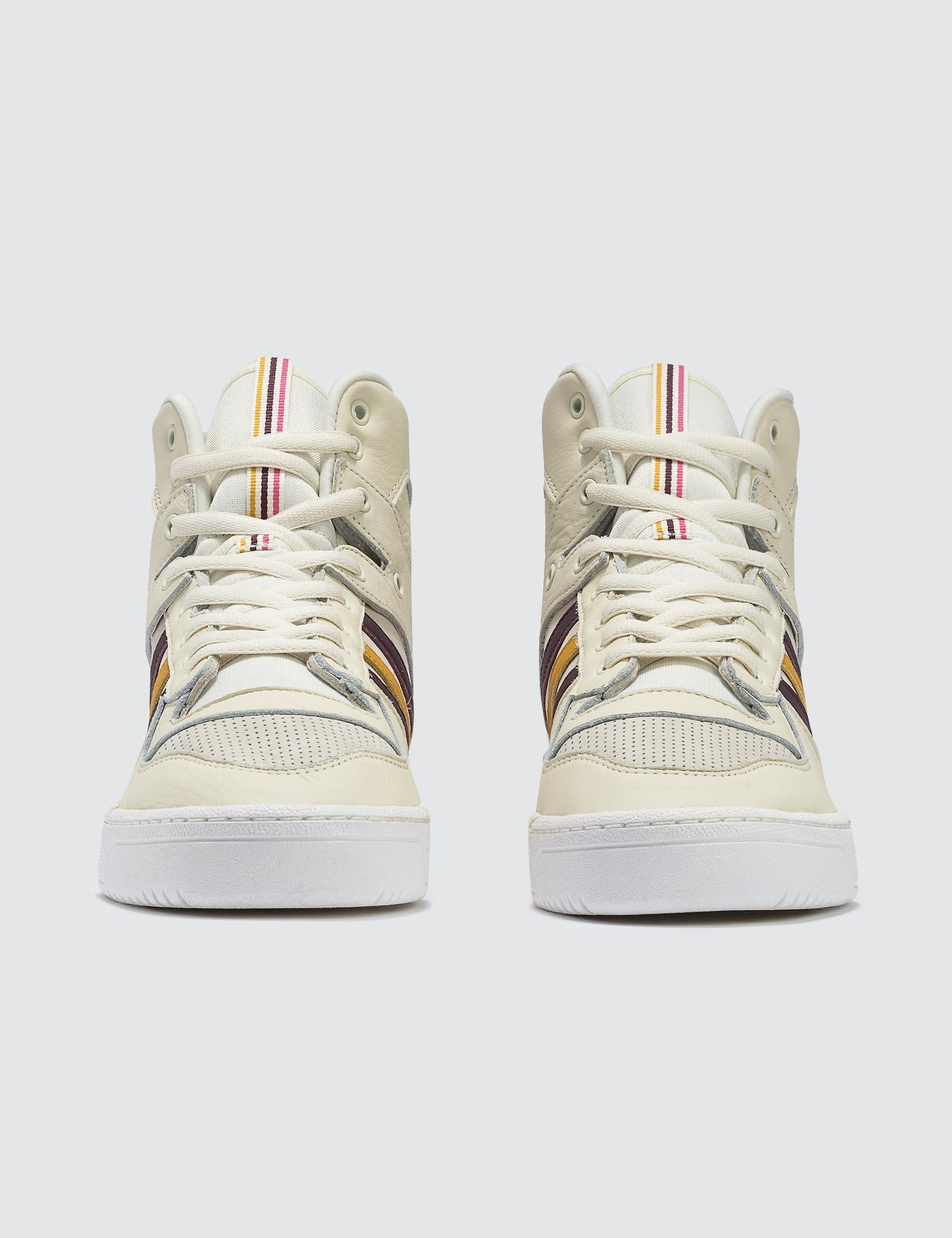 3c57db81a80 adidas Originals Eric Emanuel X Adidas Rivalry Hi Og in White for Men - Lyst