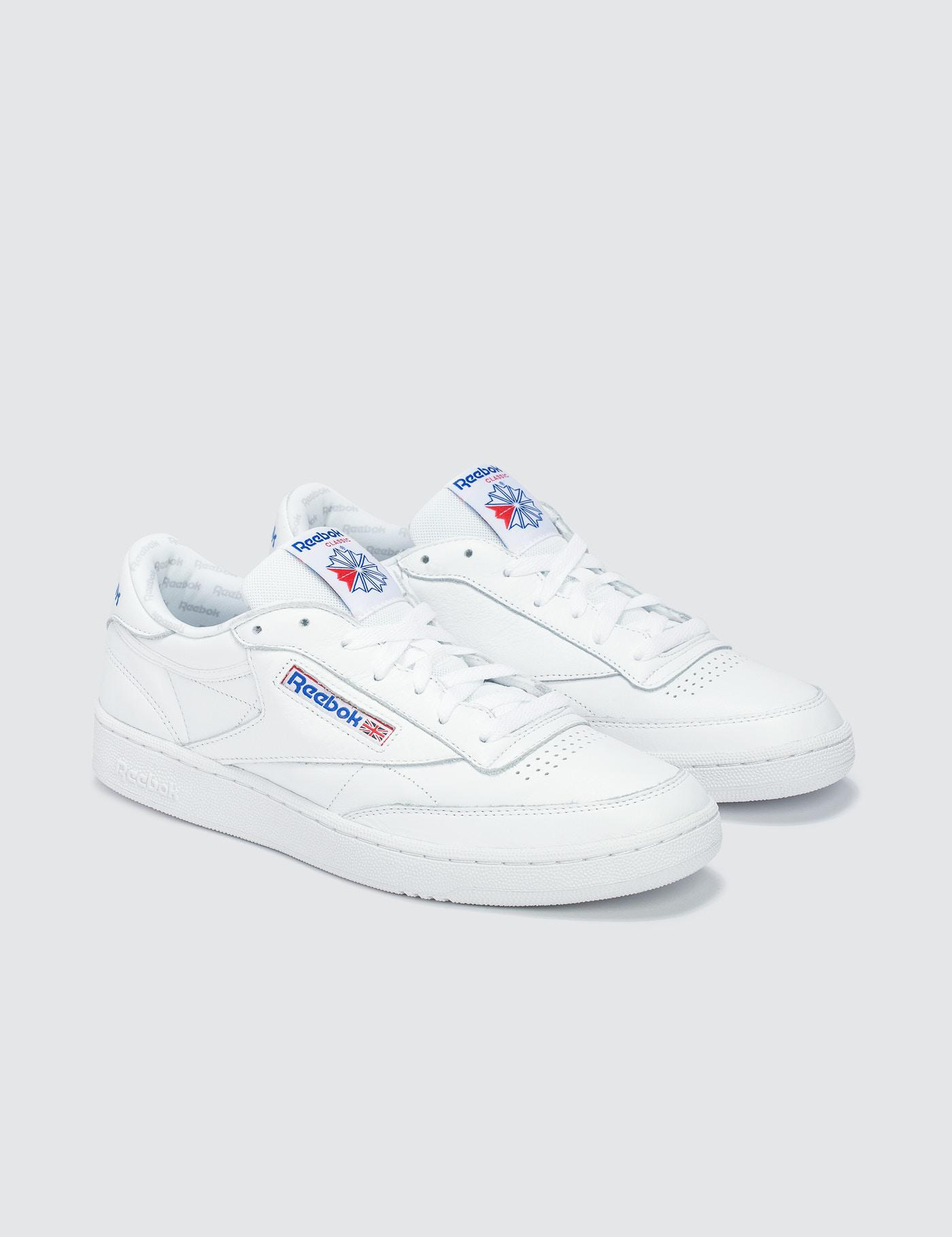 ff1c637d318 Lyst - Reebok Club C 85 So Trainers In White Bs5214 in White for Men
