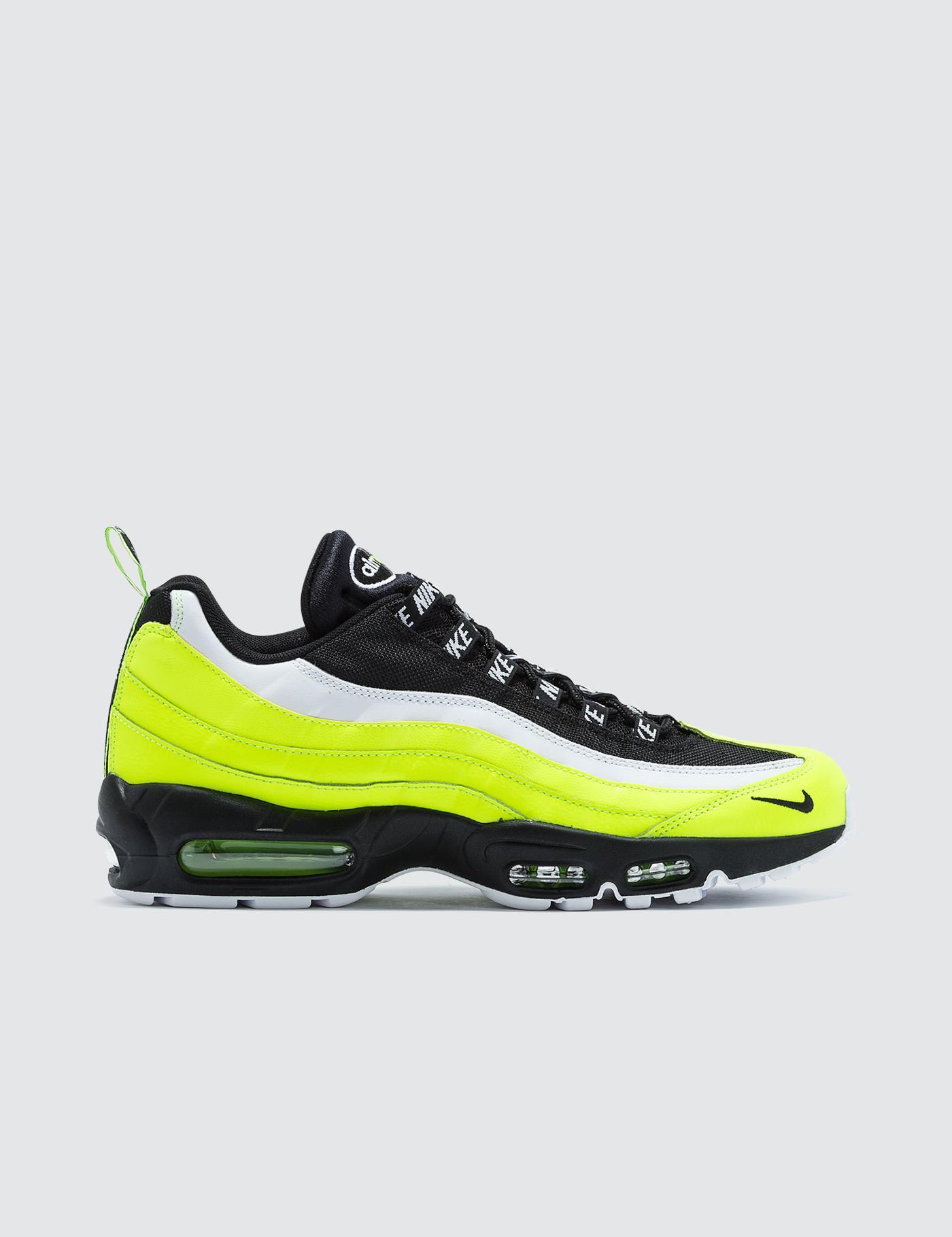 97bdb05923cd Lyst - Nike Air Max 95 Premium in Yellow for Men