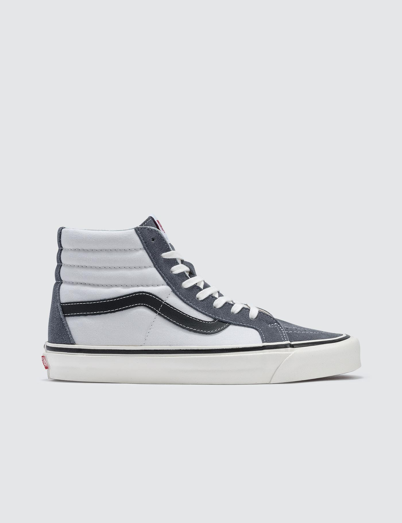 76ebc0f695bda8 Lyst - Vans Sk8-hi 38 Dx in White for Men