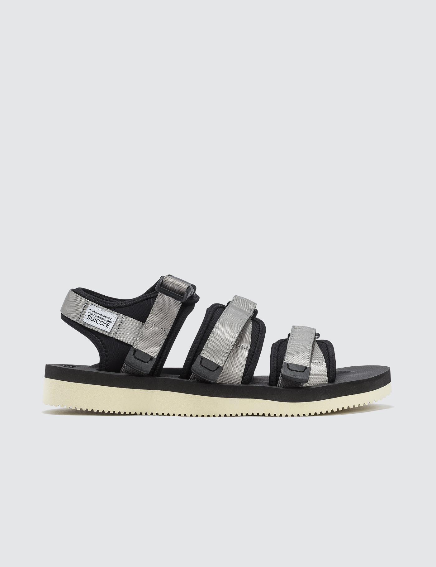 b5c2d36ab363 Suicoke Gga-v Sandals in Gray for Men - Lyst