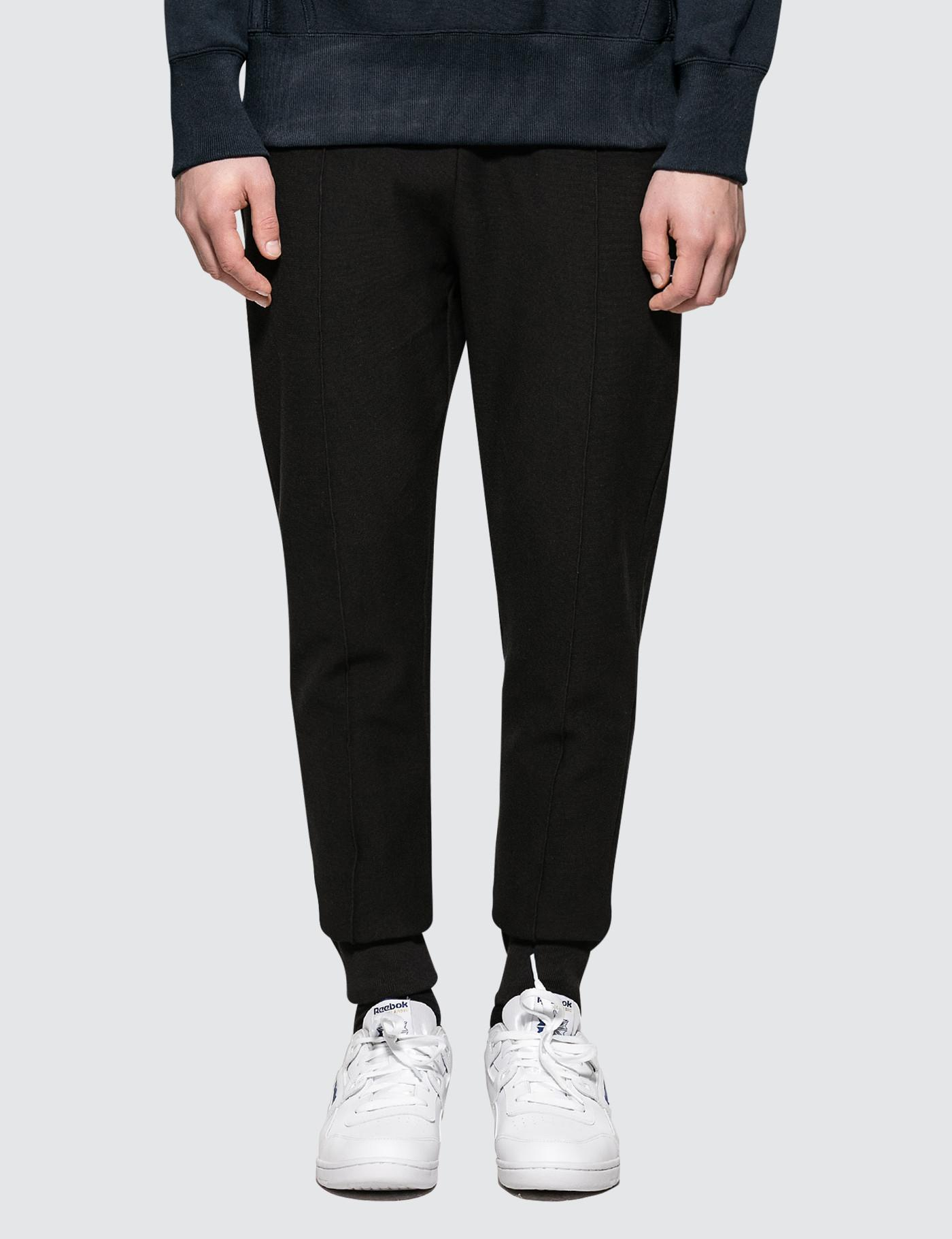 ddd542e79e95 Champion Rib Cuff Sweat Pants in Black for Men - Lyst