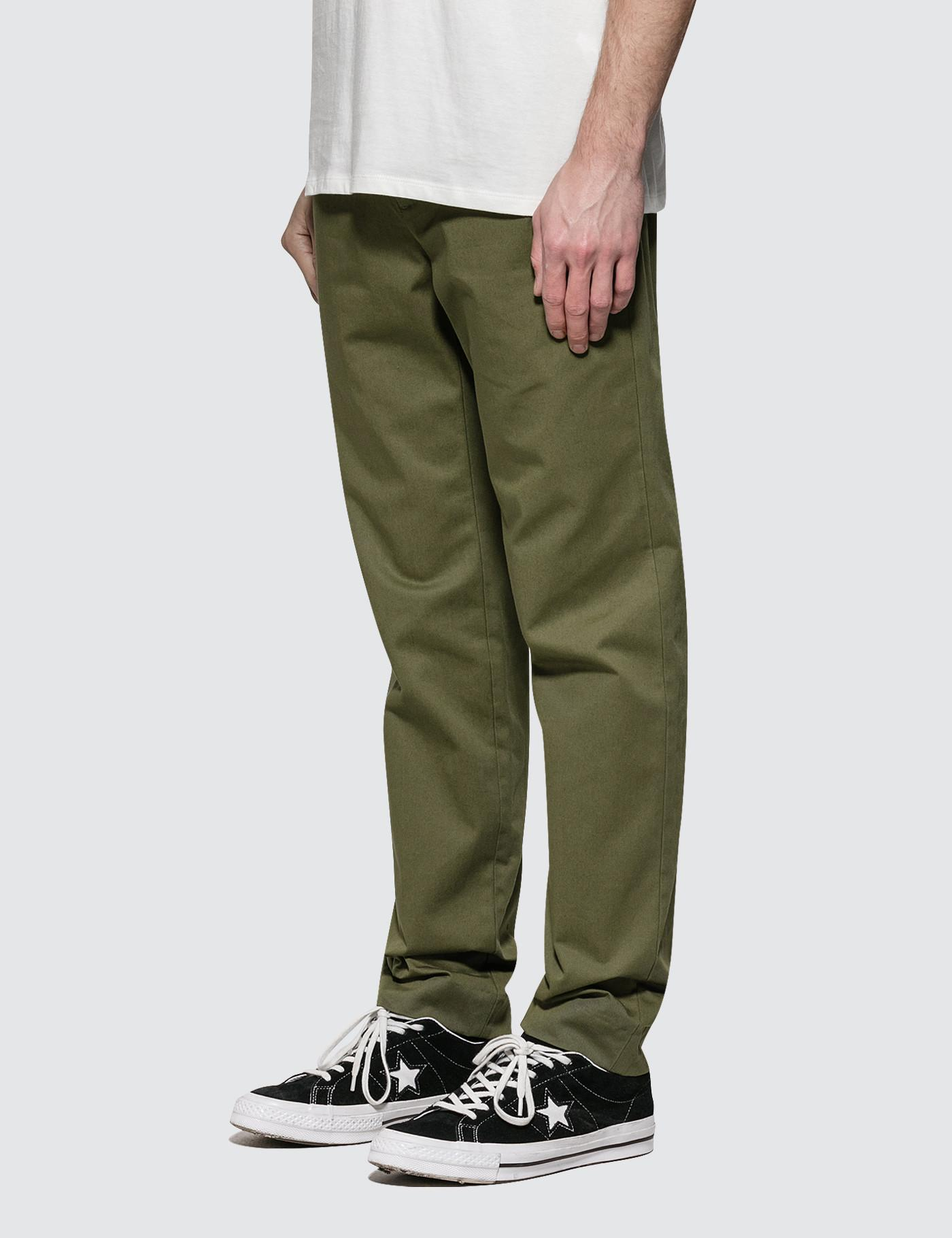 707cabe51 A.P.C. Pantalon Quake Pant in Green for Men - Lyst