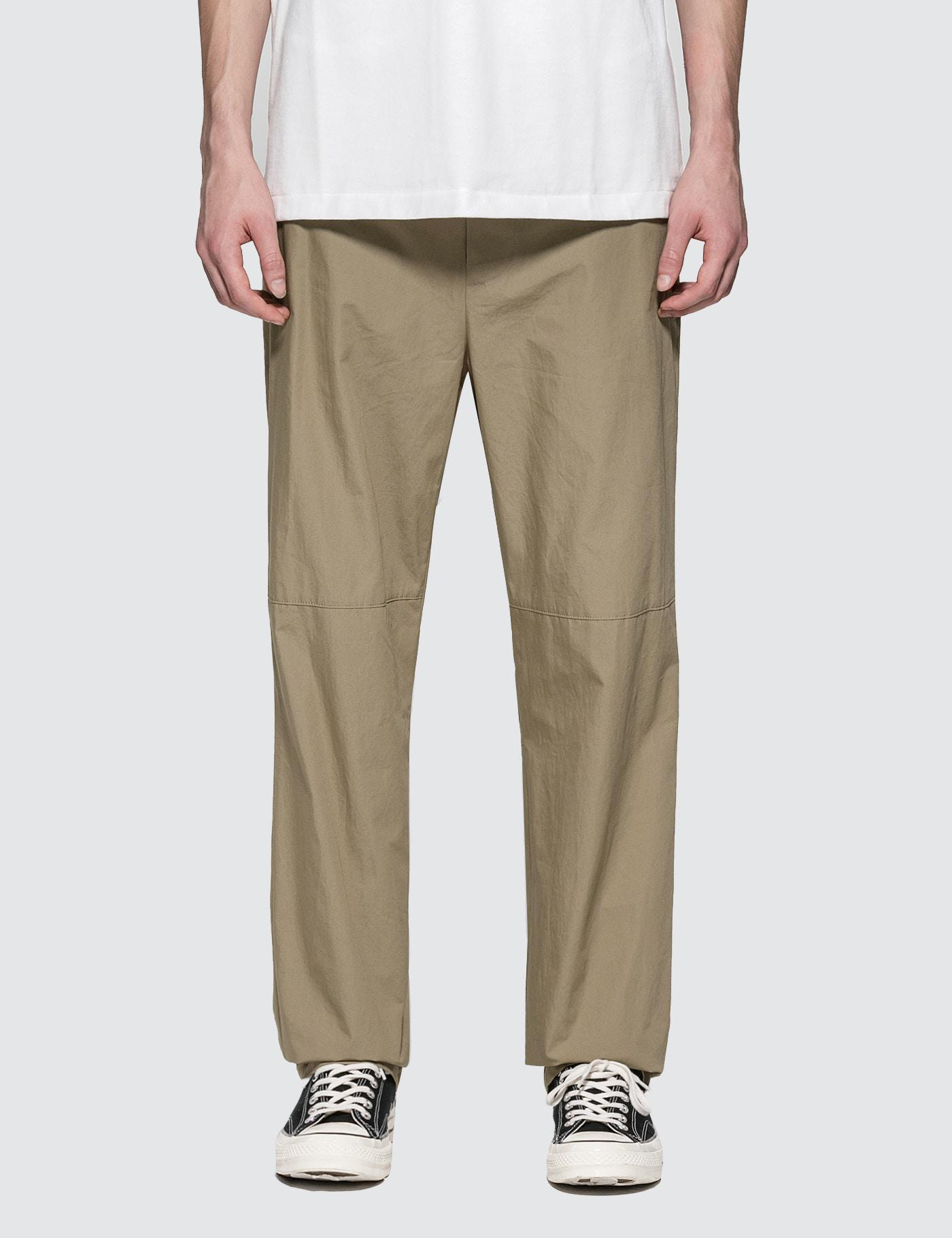 AMBUSH Khaki Shoe Laced Trousers