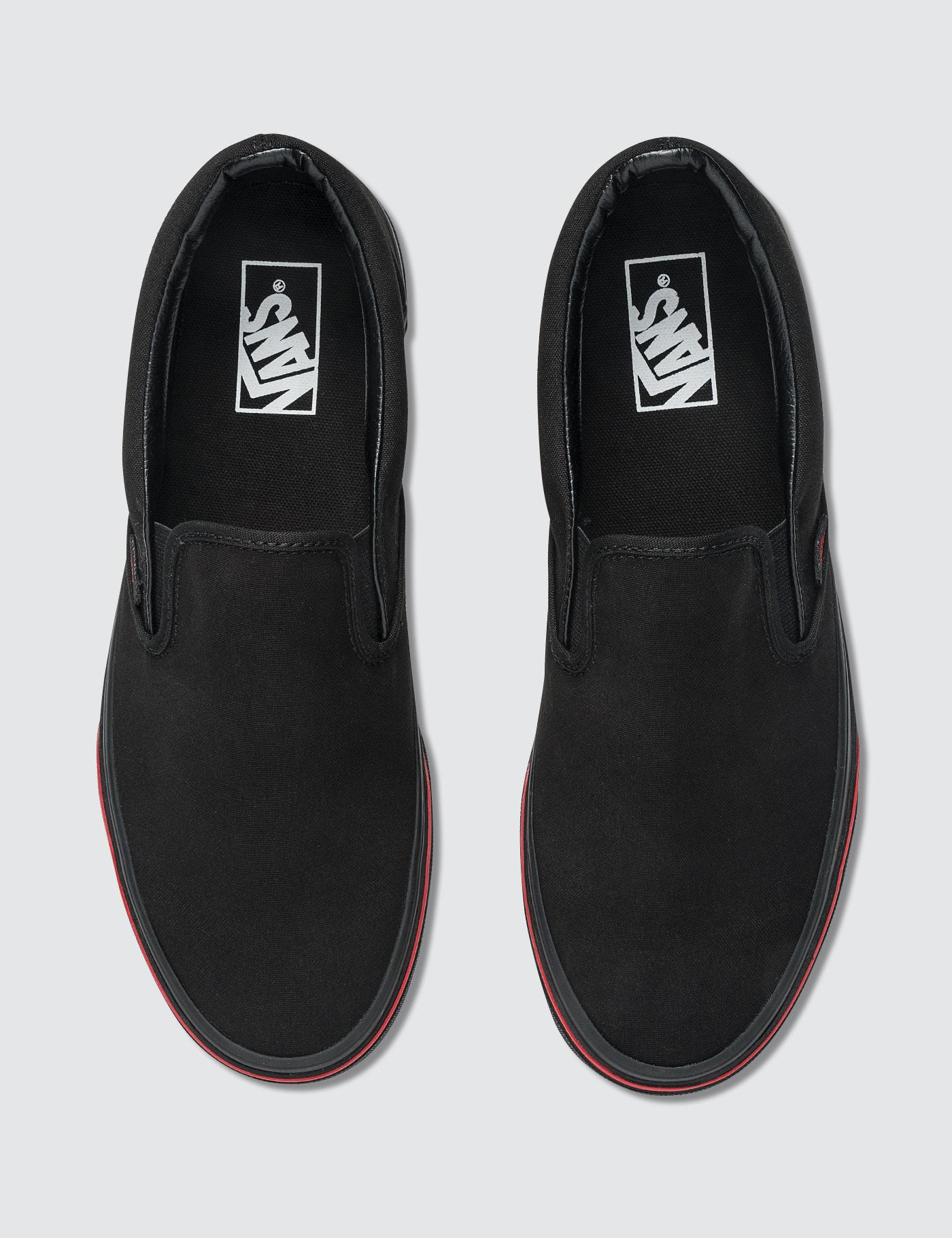 5b6956c2a76 Vans Ua Classic Slip-on (flame Wall) in Black for Men - Lyst