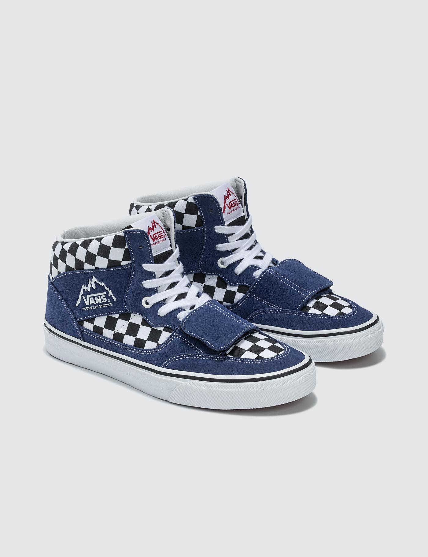 e574ea15c8 Vans Mountain Edition (checkerboard) Blue  Black in Blue for Men - Lyst