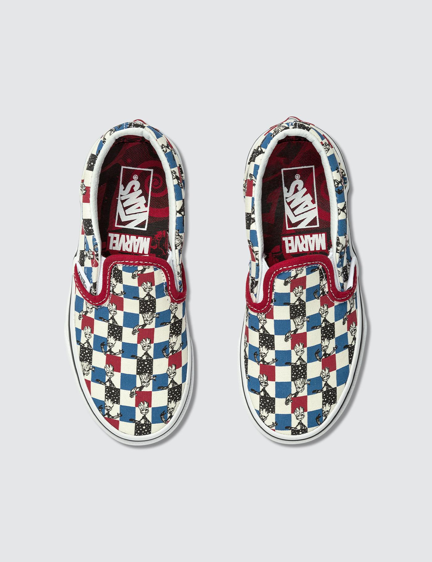 Lyst - Vans Marvel Classic Slip-on for Men 0a2a3d127